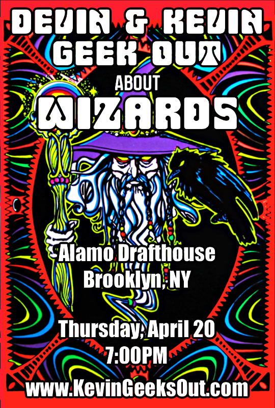Kevin and Devin Geek Out About Wizards - Alamo Drafthouse