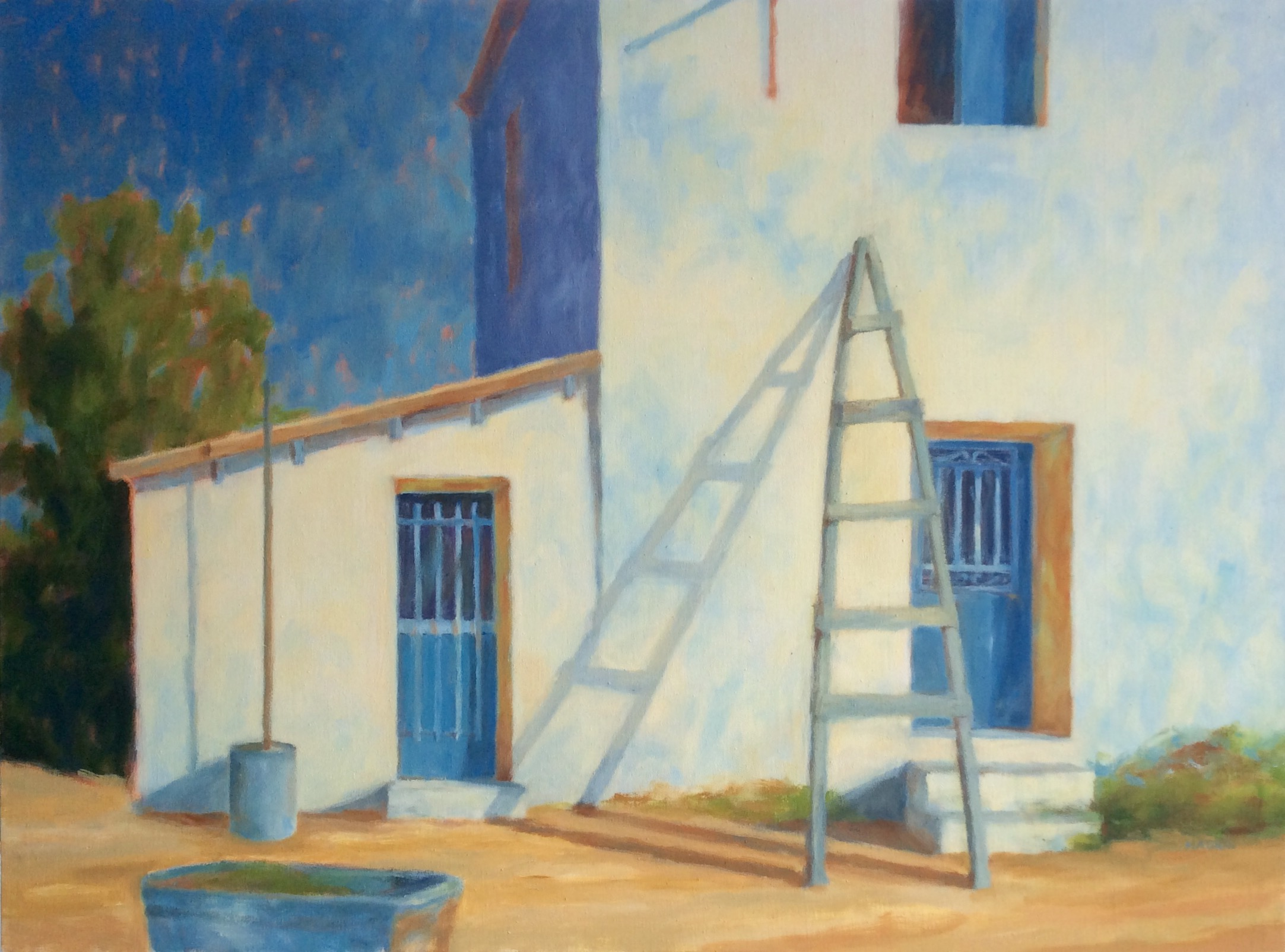 House with Ladder, Metohi