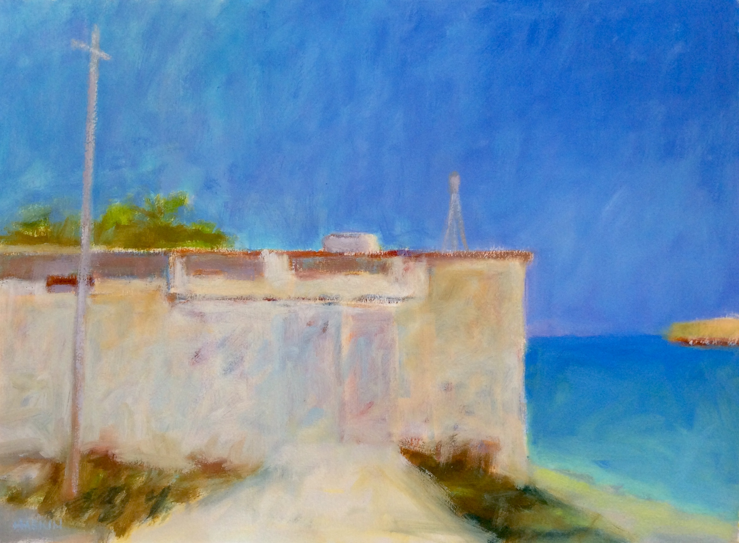 Light at Poros Straits