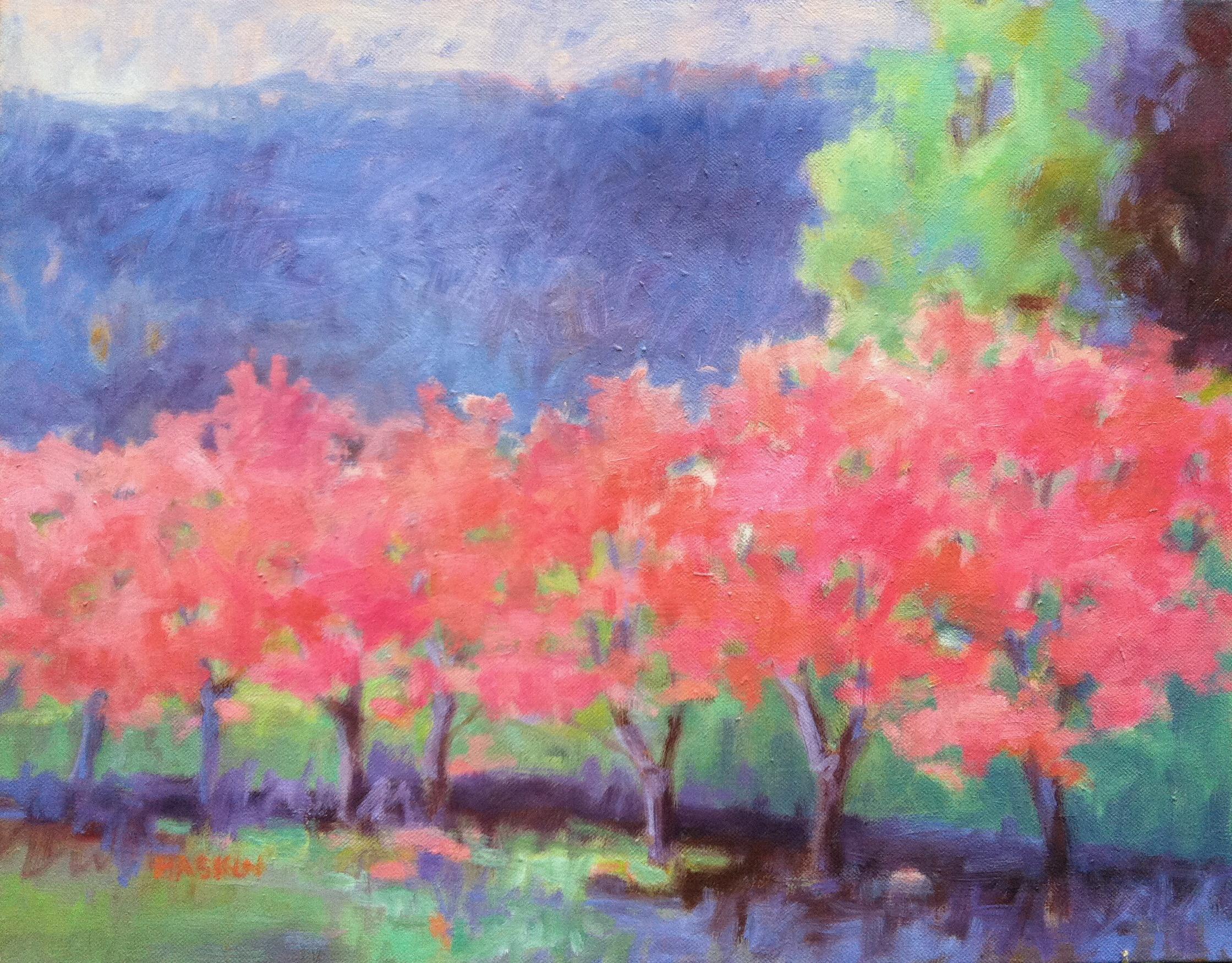 Pink Trees IV