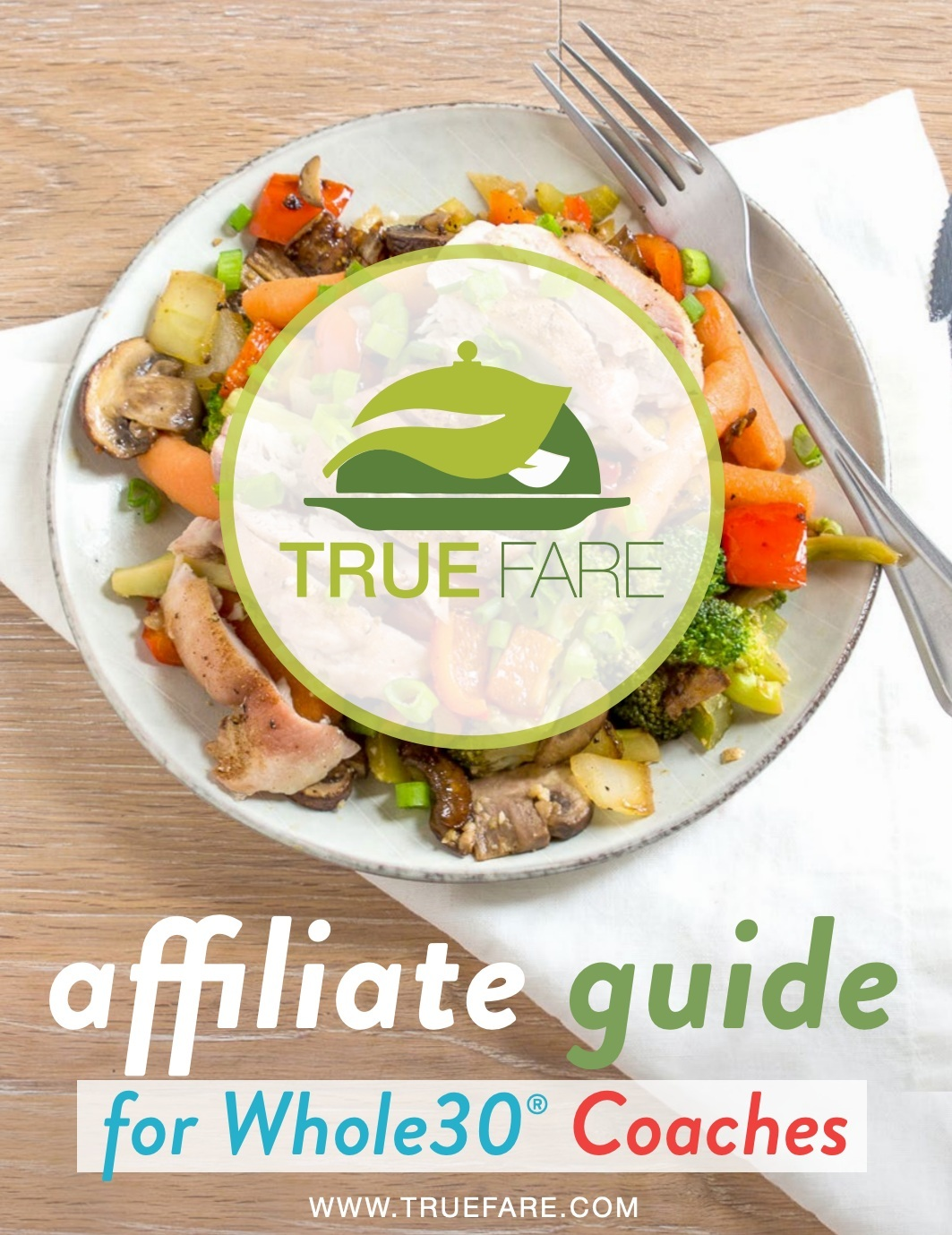 An affiliate kit created specifically for Whole30 Certified Coaches.