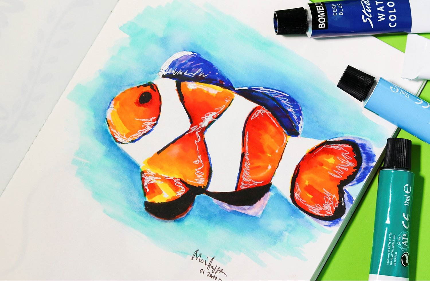 Watercolour Painting (For Kids) Workshop — BenchLab ...