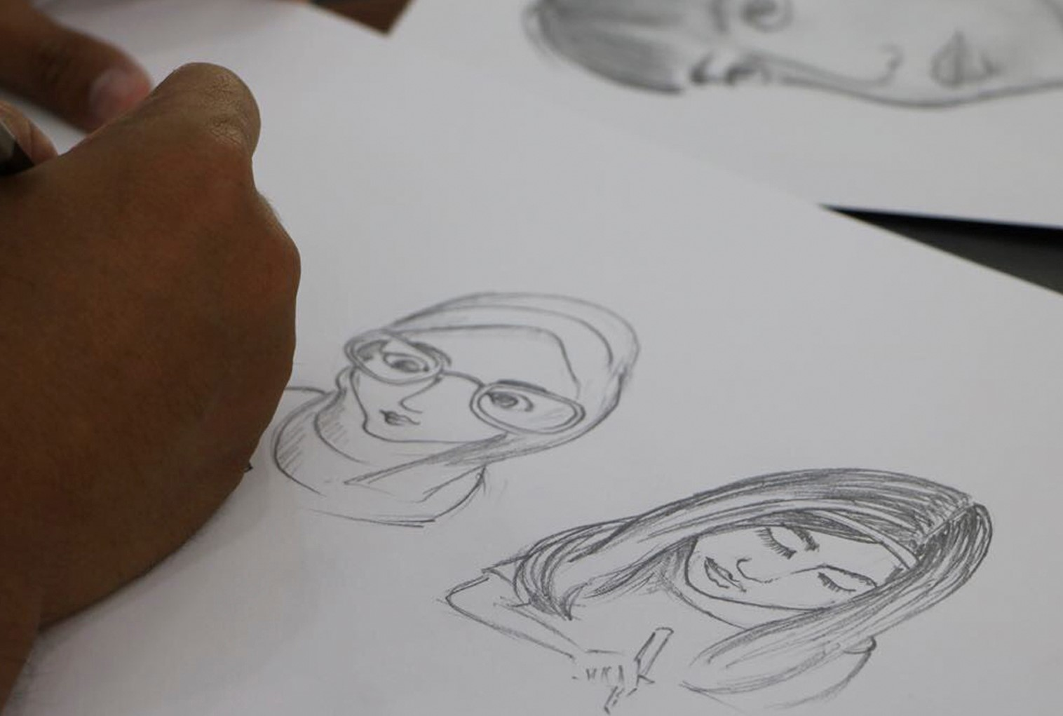Cartoon and Caricature Drawing
