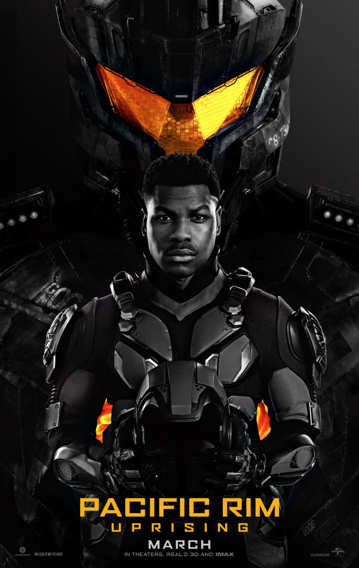 Pacific Rim: Uprising (2018) - Directed by: Steven S. DeKnightStarring: John Boyega, Scott Eastwood, Cailee Spaeny, Charlie DayRated: PG-13 for Sequences of Sci-Fi Violence and Action, and Some LanguageRunning Time: 1 h 51 mTMM Score: 1.5 stars out of 5STRENGTHS: Visual EffectsWEAKNESSES: Writing, Directing