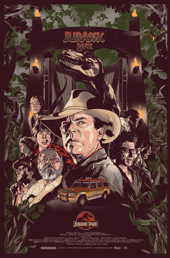 Jurassic Park 1993 True Myth Media