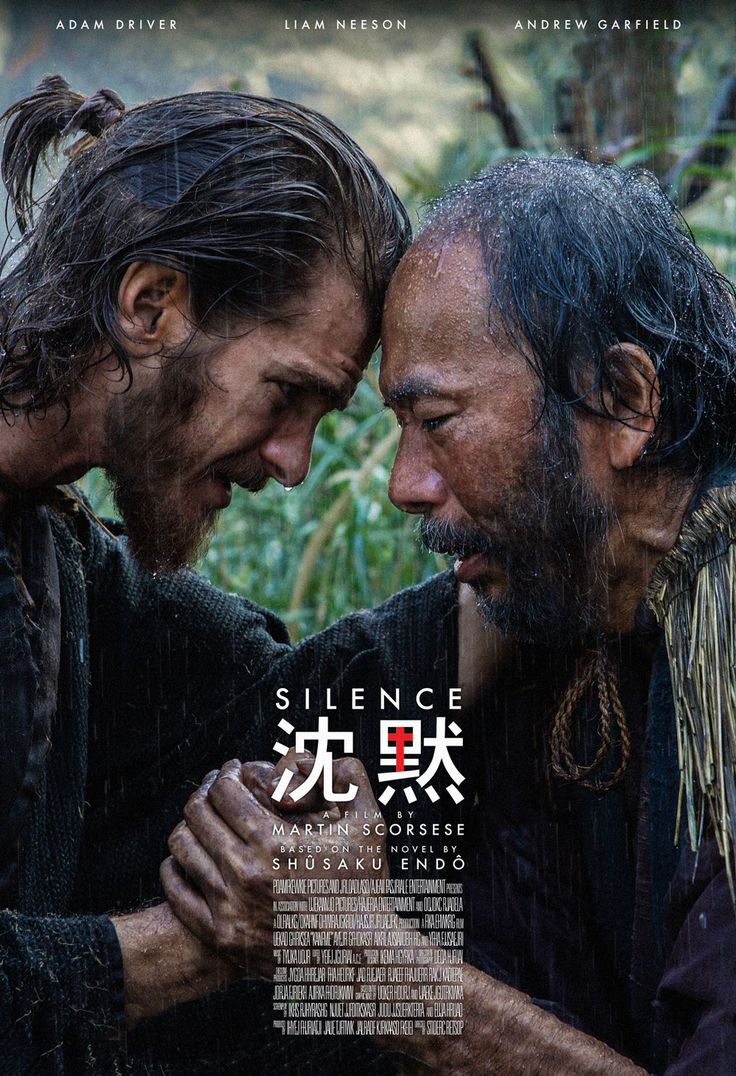 Silence (2017) - Directed by: Martin ScorseseStarring: Andrew Garfield, Adam Driver, Liam NeesonRated: R for Some Disturbing Violent Content.Running Time: 2 h 41 mTMM Score: 4.5 stars out of 5STRENGTHS: Cinematography, Acting, Grueling PacingWEAKNESSES: Grueling Pacing