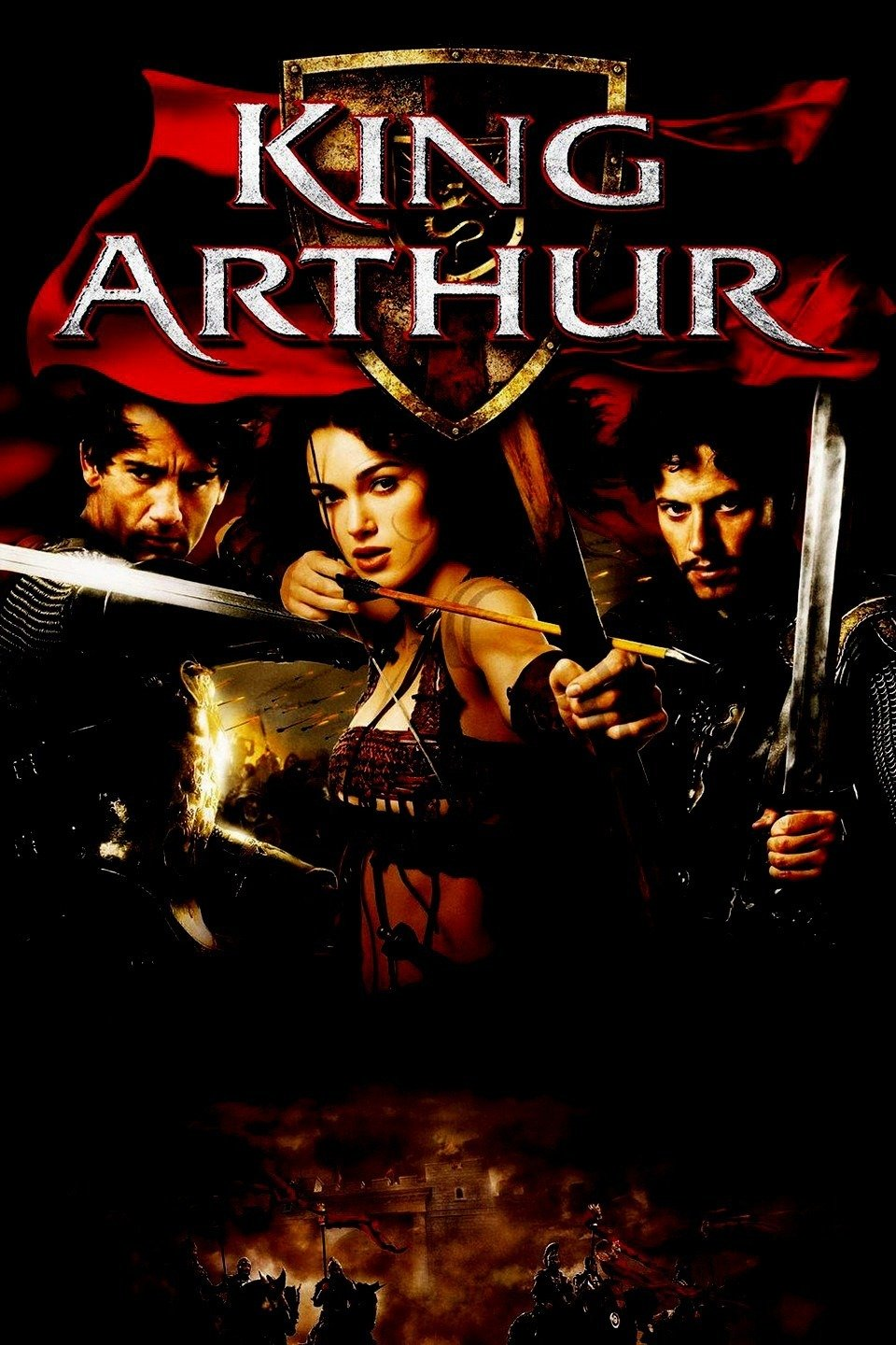 King Arthur (2004) - Directed by: Antoine FuquaStarring: Clive Owen, Keira Knightley, Stellan SkarsgardRated: (Reviewing Director's Cut- Suggested Rating R)Running Time: 2 h 22 mTMM Score: 3.5 stars out of 5STRENGTHS: Pacing, Action, Characters, Moral DilemmaWEAKNESSES: Cliche Storyline, Acting, Some Writing