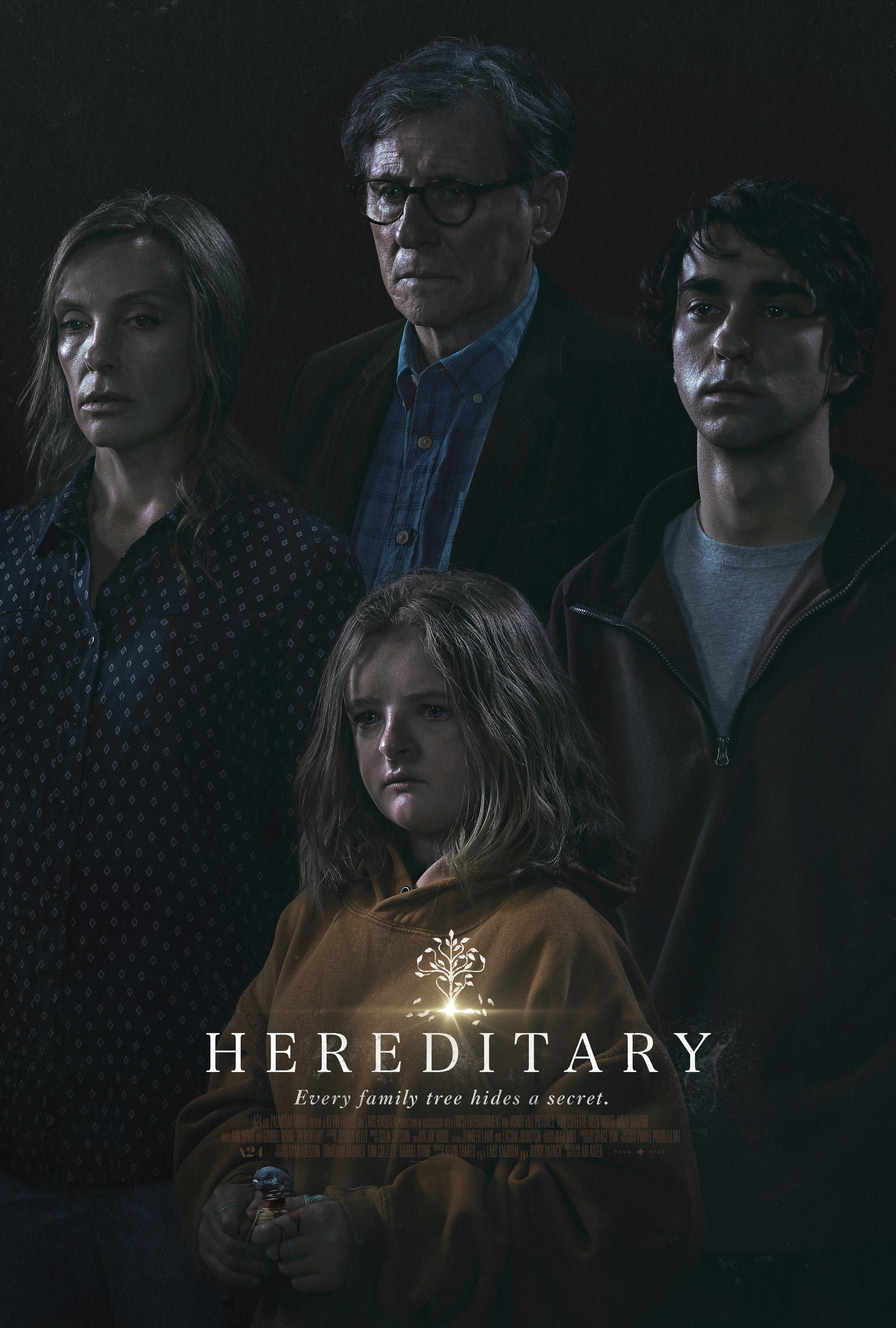 Hereditary (2018) - Directed by: Ari AsterStarring: Toni Collette, Milly Shapiro, Gabriel Byrne, Alex WolffRated: R for Horror Violence, Disturbing Images, Language, Drug Use and Brief Graphic NudityRunning Time: 2 h 7 mTMM Score: 5 stars out of 5STRENGTHS: Directing, Pacing, Story, Atmosphere, ActingWEAKNESSES: Some On The Nose Dialogue
