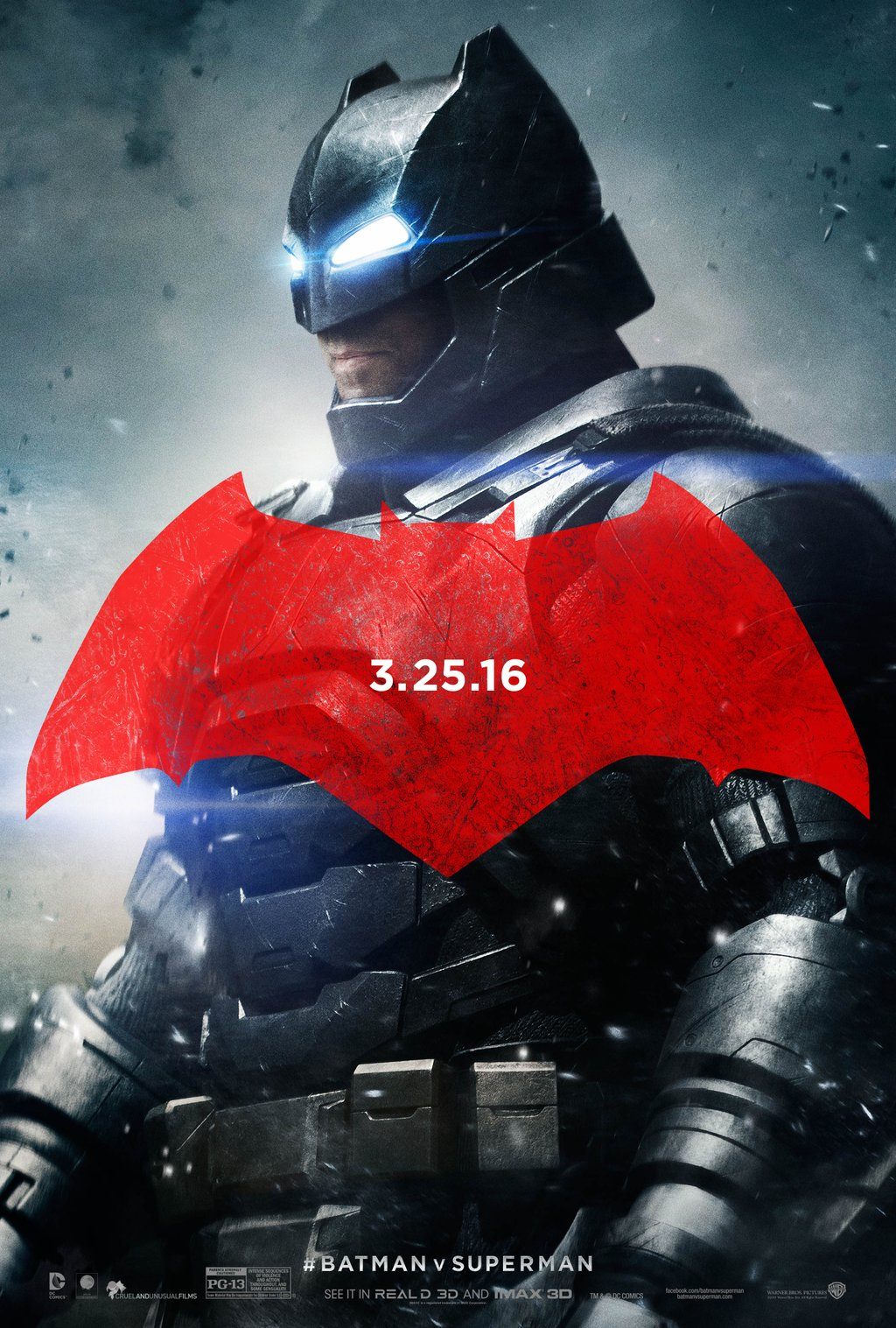 Batman v Superman: Dawn of Justice (2016) - Directed By: Zack SnyderStarring: Ben Affleck, Henry Cavill, Amy AdamsRated: PG-13 for Intense Sequences of Violence and Action Throughout, and Some SensualityTMM: 2 out of 5 StarsStrengths: Wonder Woman, Visually Engaging, IconicWeaknesses: Slow Pacing, Lack of Connection to Characters, Studio Concerns, Lack of Mystery, Henry Cavill