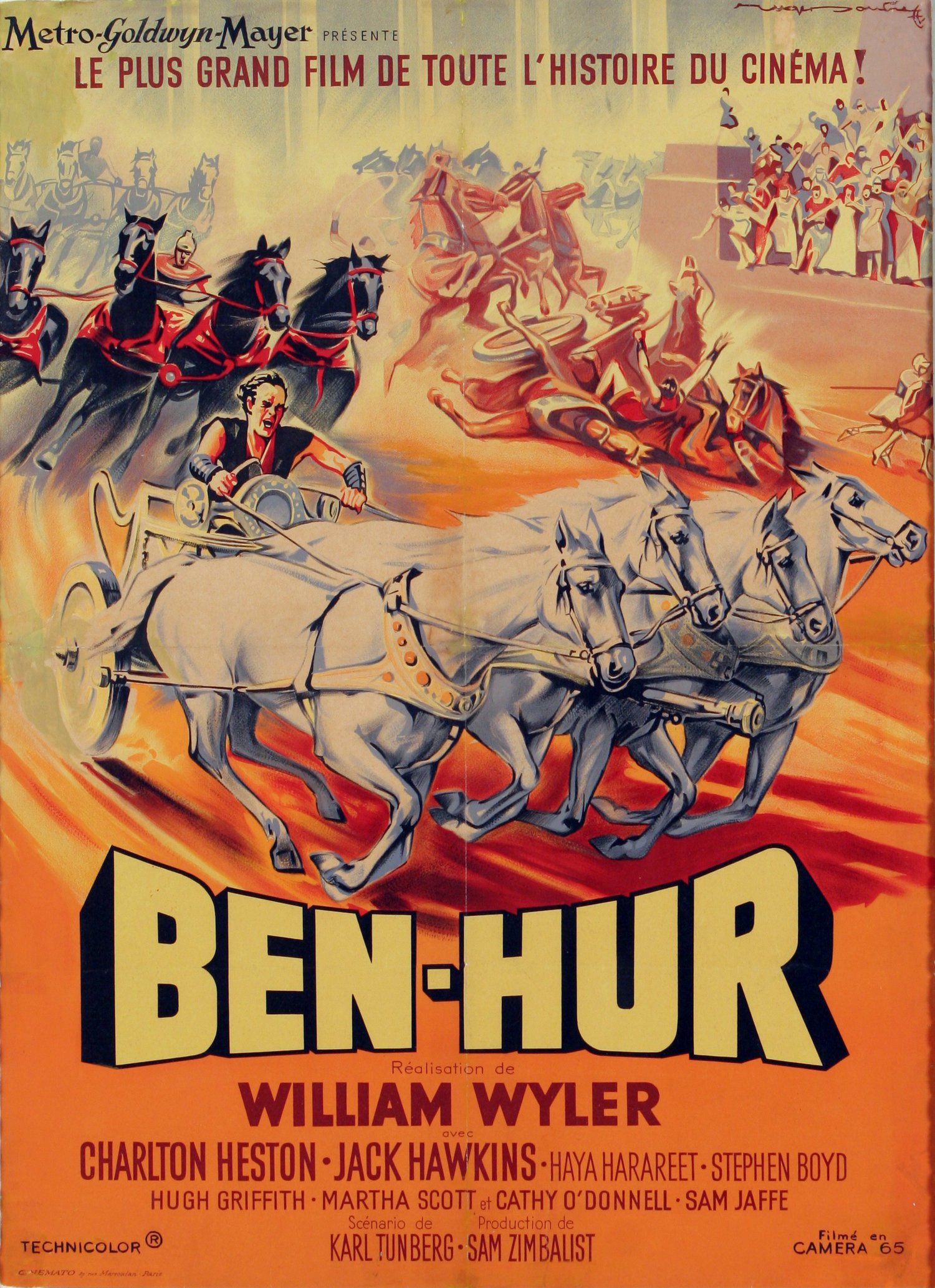 Ben-Hur (1959) - Directed By: William WylerStarring: Charlton Heston, Jack Hawkins, Stephen Boyd, Haya Harareet, Hugh GriffithRated: GRunning Time: 3h 32mTMM: 5 out of 5 StarsStrengths: Story, Themes, Set Pieces, Acting, Epic ScaleWeaknesses: Some Acting, Length