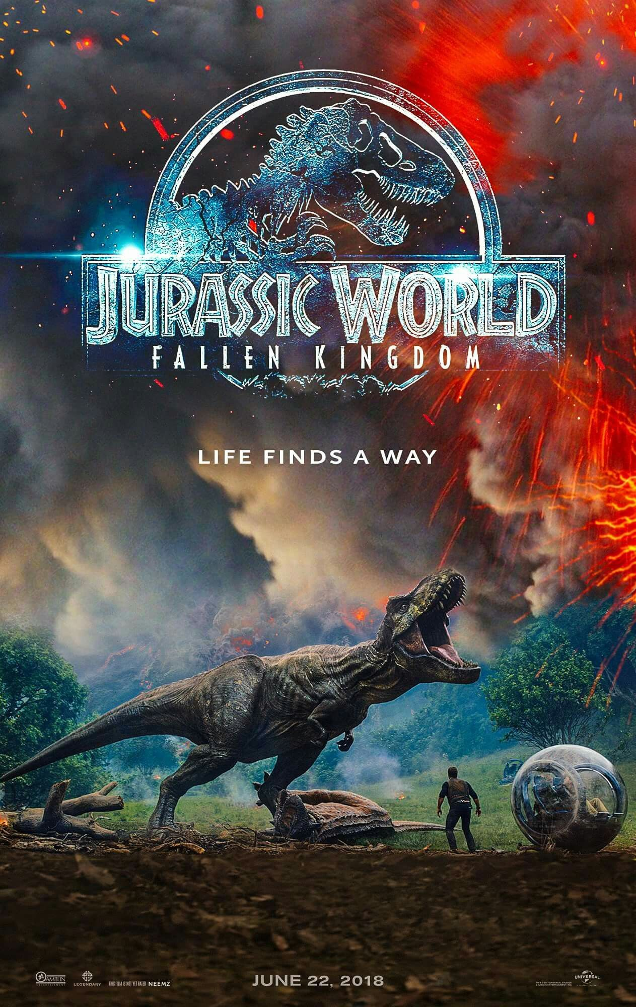 Jurassic World: Fallen Kingdom (2018) - Directed by: J. A. BayonaStarring: Chris Pratt, Bryce Dallas Howard, James Cromwell, Toby JonesRated: PG13Running Time: 2h 8mTMM Score: 2 stars out of 5STRENGTHS: It is a movie.WEAKNESSES: The emptiness inside when you leave the theater.