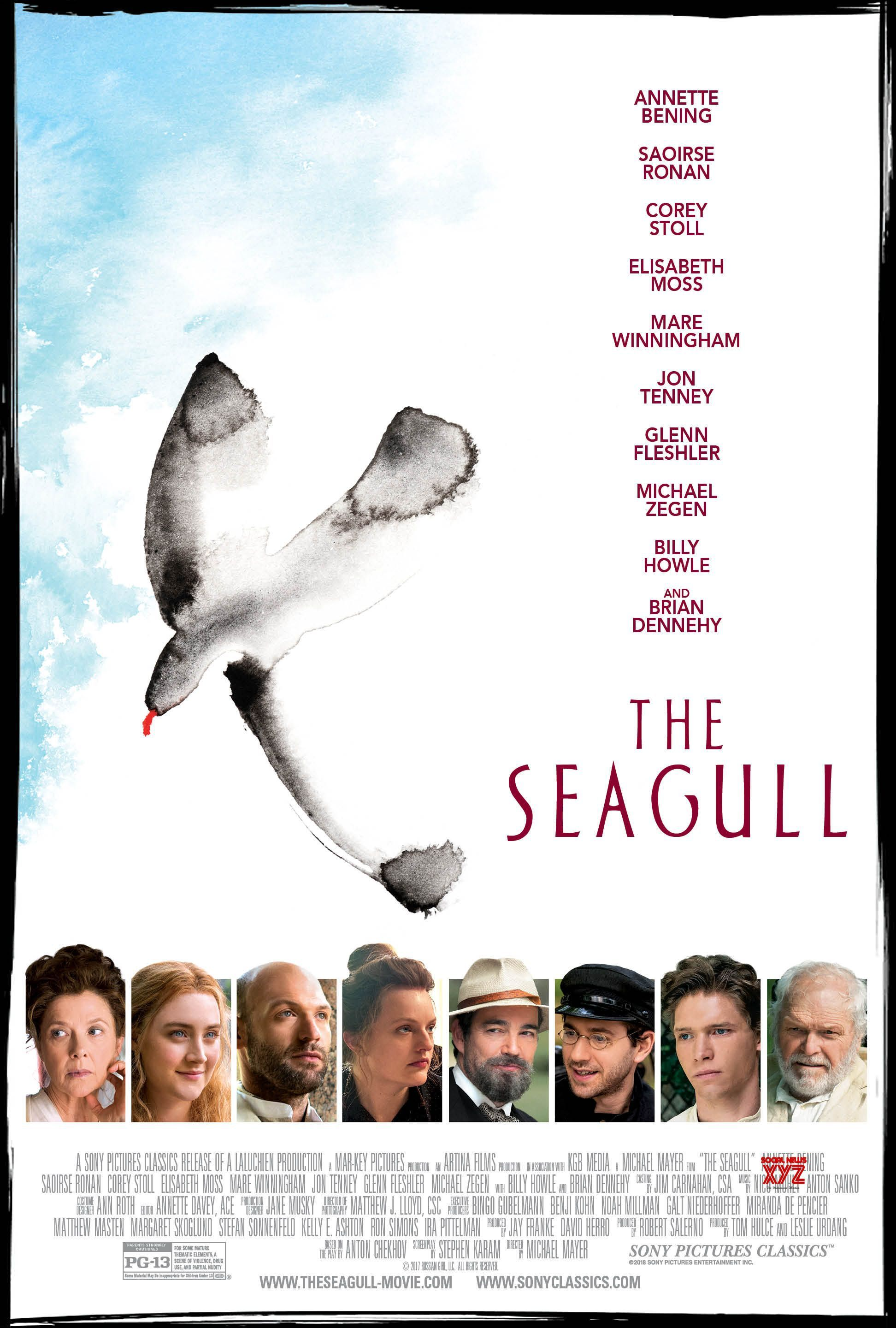 The Seagull (2018) - Directed by: Michael MayerStarring: Annette Bening, Saoirse Ronan, Corey Stoll, Elisabeth MossRated: PG13Running Time: 1h 38mTMM Score: 3 stars out of 5STRENGTHS: Acting, WritingWEAKNESSES: Pacing, It's a Play