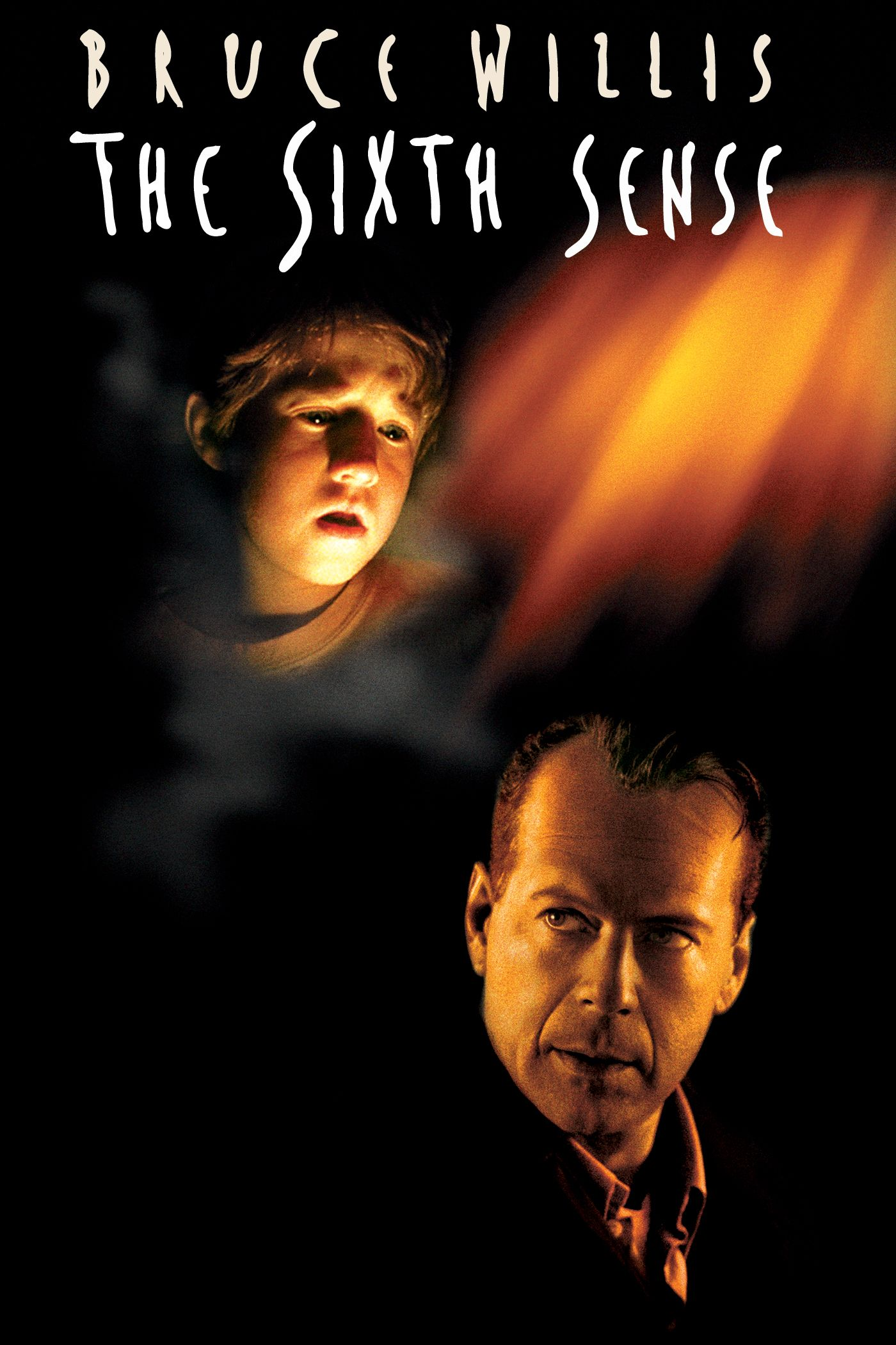 The Sixth Sense (1999) - Directed by: M. Night ShyamalanStarring: Bruce Willis, Haley Joel Osment, Toni ColletteRated: PG13Running Time: 1h 47mTMM Score: 5 stars out of 5STRENGTHS: Acting, Story TellingWEAKNESSES: Unimaginative Cinematography, Weaker Theme