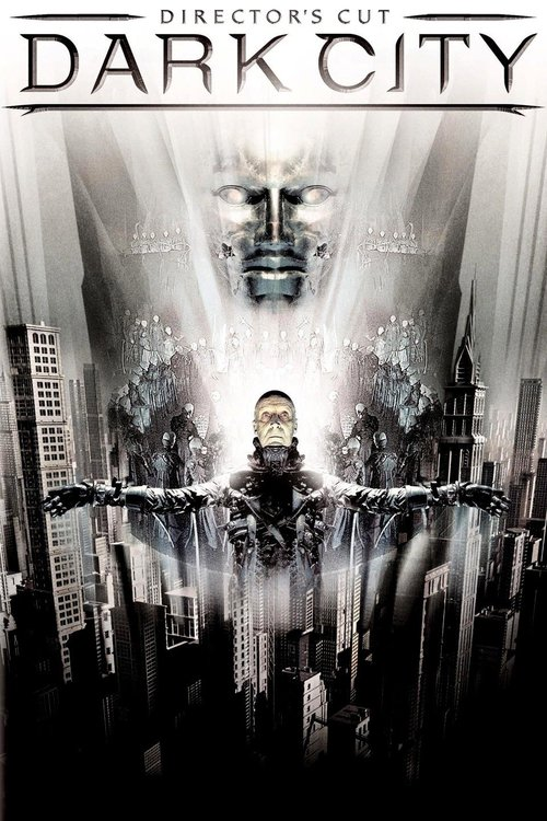 Dark City (1998) - Directed By: Alex ProyasStarring: Rufus Sewell, Kiefer Sutherland, Jennifer Connelley, William HurtRating: R for Violent Images and Some SexualityRunning Time: 1 H 54 M (Director's Cut)TMM: 3.5 out of 5 StarsStrengths: Aesthetic, Twists, Some Special EffectsWeaknesses: Some Special Effects, Convoluted Conclusion