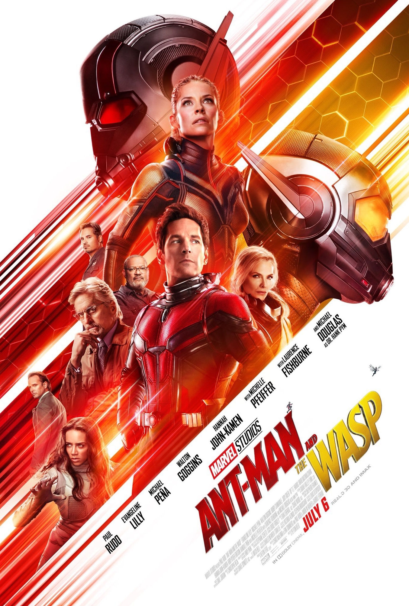 Ant-Man and the Wasp (2018) - Directed by: Peyton ReedStarring: Paul Rudd, Evangeline Lilly, Michael Pena.Rated: PG13Running Time: 1h 58mTMM Score: 3 stars out of 5STRENGTHS: Humor, Enjoyable Action, No Bad Guy That Wants To Take Over The WorldWEAKNESSES: One Too Many Plot Lines