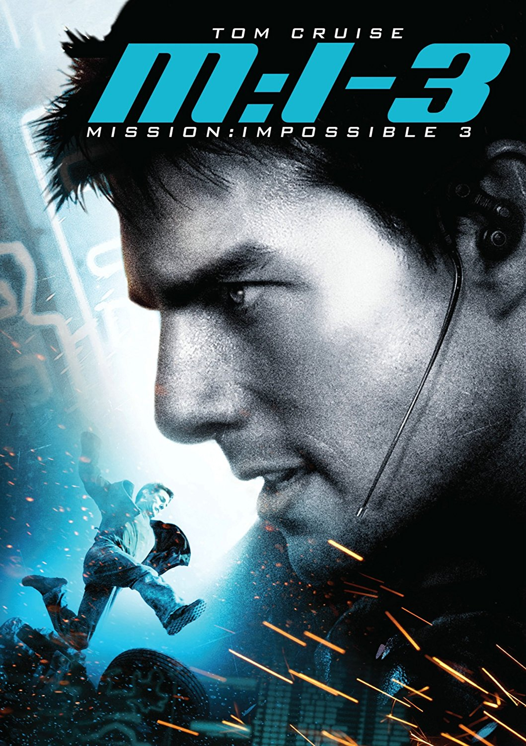 Mission: Impossible III (2006) - Directed by: J.J. AbramsStarring: Tom Cruise, Phillip Seymore Hoffman, Michelle Monaghan, Ving Rhames, Billy Crudup, Laurence Fishburne, Kerri Russell, Maggie Q, Simon Pegg, Jonathan Rhys MeyersRated: PG13Running Time: 2h 6mTMM Score: 4 stars out of 5STRENGTHS: Set Pieces, VillainWEAKNESSES: A Little Cheesy