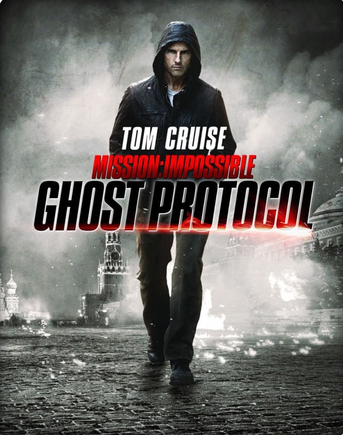 Mission: Impossible - Ghost Protocol (2011) - Directed by: Brad BirdStarring: Tom Cruise, Jeremy Renner, Paula Patton, Simon PeggRated: PG13Running Time: 2h 12mTMM Score: 3 stars out of 5STRENGTHS: Set PiecesWEAKNESSES: Terrible 3rd Act