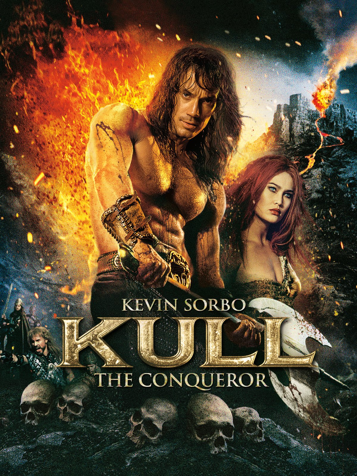 Kull the Conqueror (1997) - Directed by: John NicolellaStarring: Kevin Sorbo, Tia Carrere, Thomas Ian GriffithRated: PG-13 for Fantasy Action Violence and SensualityRunning Time: 1 h 35 mTMM Score: 1.5 stars out of 5STRENGTHS: Interesting PremiseWEAKNESSES: Execution of Everything
