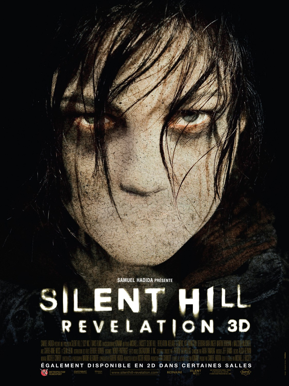 Silent Hill: Revelation (2012) - Directed by: M.J. BassettStarring: Adelaide Clemens, Kit Harington, Sean Bean, Carrie-Anne MossRated: R for Violence and Disturbing Images, Some Language and Brief NudityRunning Time: 1 h 35 mTMM Score: 0.5 stars out of 5STRENGTHS: One or Two Creature DesignsWEAKNESSES: Quite Literally Everything Else
