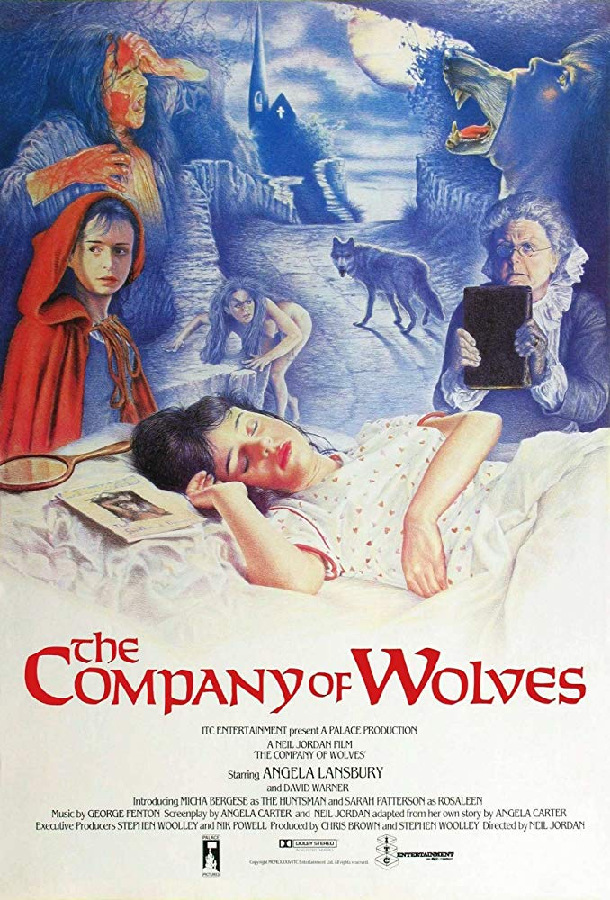 The Company of Wolves (1984) - Directed by: Neil JordanStarring: Sarah Patterson, Angela Lansbury, Stephen ReaRated: RRunning Time: 1 h 35 mTMM Score: 3.5 stars out of 5STRENGTHS: Practical Effects, Production Design, Anthology StorytellingWEAKNESSES: Some Stories Don't Work as Well as Others