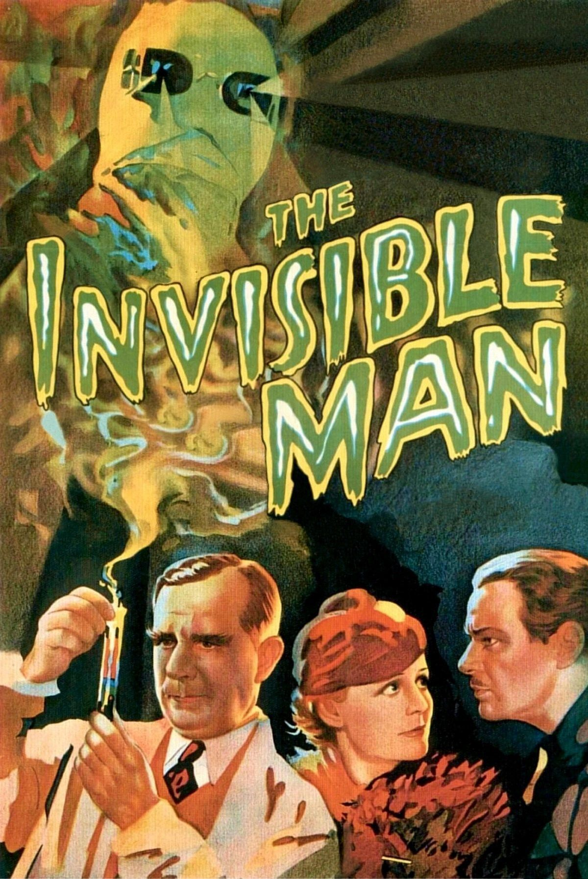 The Invisible Man (1933) - Directed by: James WhaleStarring: Claude Rains, Gloria Stuart, William HarriganRated: NR (Suggested PG for Mild Violence)Running Time: 1 h 11 mTMM Score: 4 stars out of 5STRENGTHS: Cinematography, Special Effects, Fun, Story, Old Hollywood CharmWEAKNESSES: Unsympathetic Protagonist/ Villain
