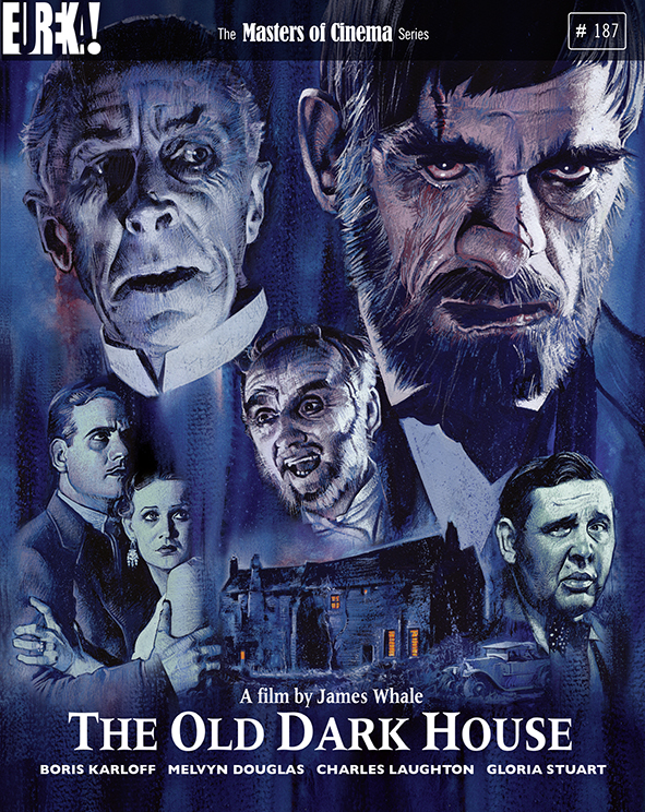 The Old Dark House (1932) - Directed by: James WhaleStarring: Boris Karloff, Ernest Thesiger, Melvyn DouglasRated: GRunning Time: 1 h 12 mTMM Score: 4 stars out of 5STRENGTHS: Writing, Cinematography, Atmosphere, StoryWEAKNESSES: Some Acting, Character Motivation