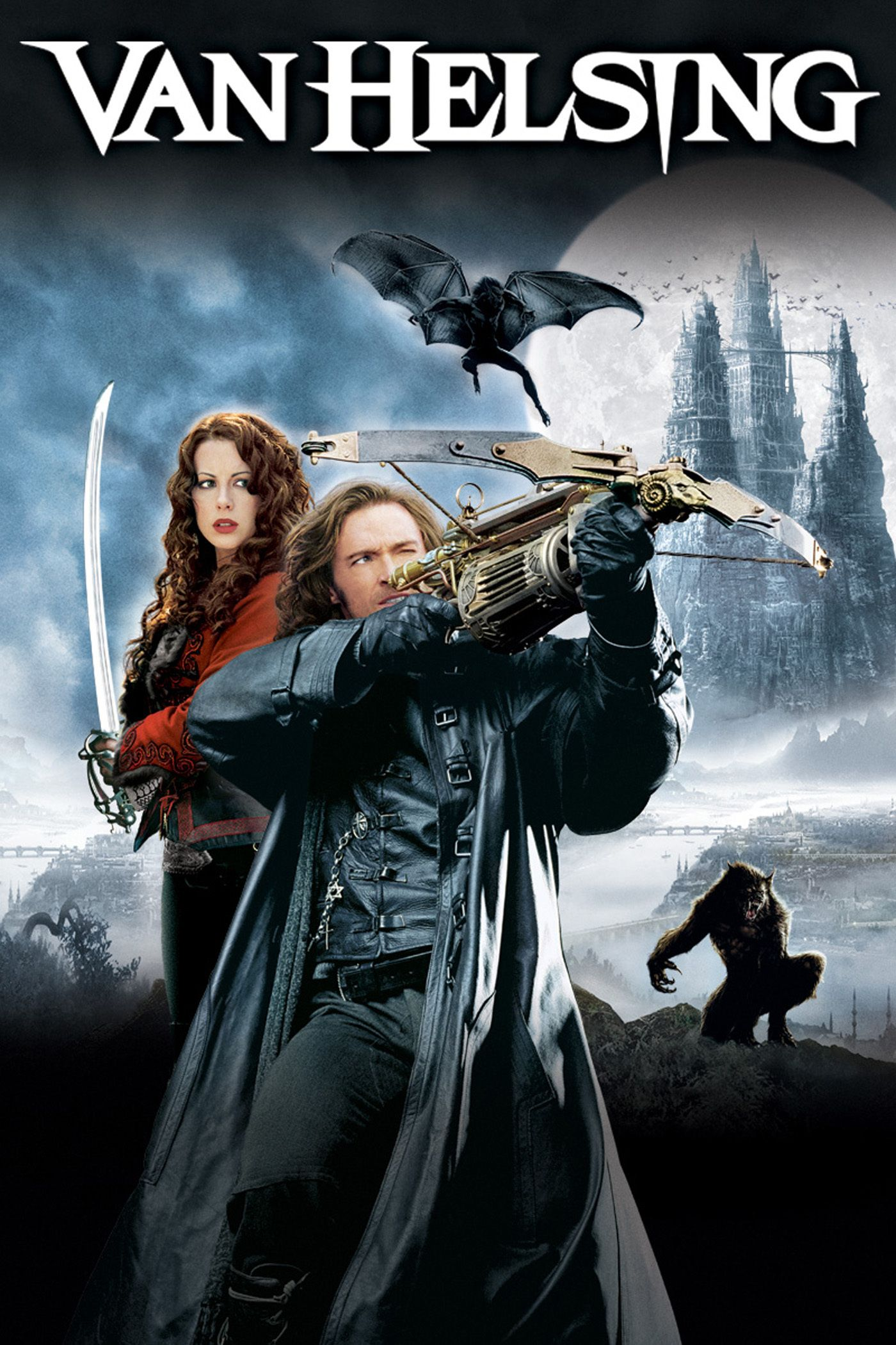 Van Helsing (2004) - Directed by: Stephen SommersStarring: Hugh Jackman, Kate Beckinsale, Richard RoxburghRated: PG-13 for Nonstop Creature Action Violence and Frightening Images, and for SensualityRunning Time: 2 h 11 mTMM Score: 1.5 stars out of 5STRENGTHS: Some Sets, Interesting ConceptWEAKNESSES: Writing, Directing, Execution, Lack of Restraint