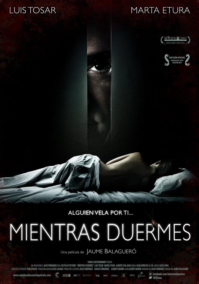 Sleep Tight (2011) - Directed by: Jaume BalagueroStarring: Luis Tosar, Marta Etura, Alberto San JuanRated: NR (Suggested R for Disturbing Behavior, Some Sexuality/Nudity and A Scene of Violence)Running Time: 1 h 42 mTMM Score: 4.5 stars out of 5STRENGTHS: Writing, Directing, ActingWEAKNESSES: Content