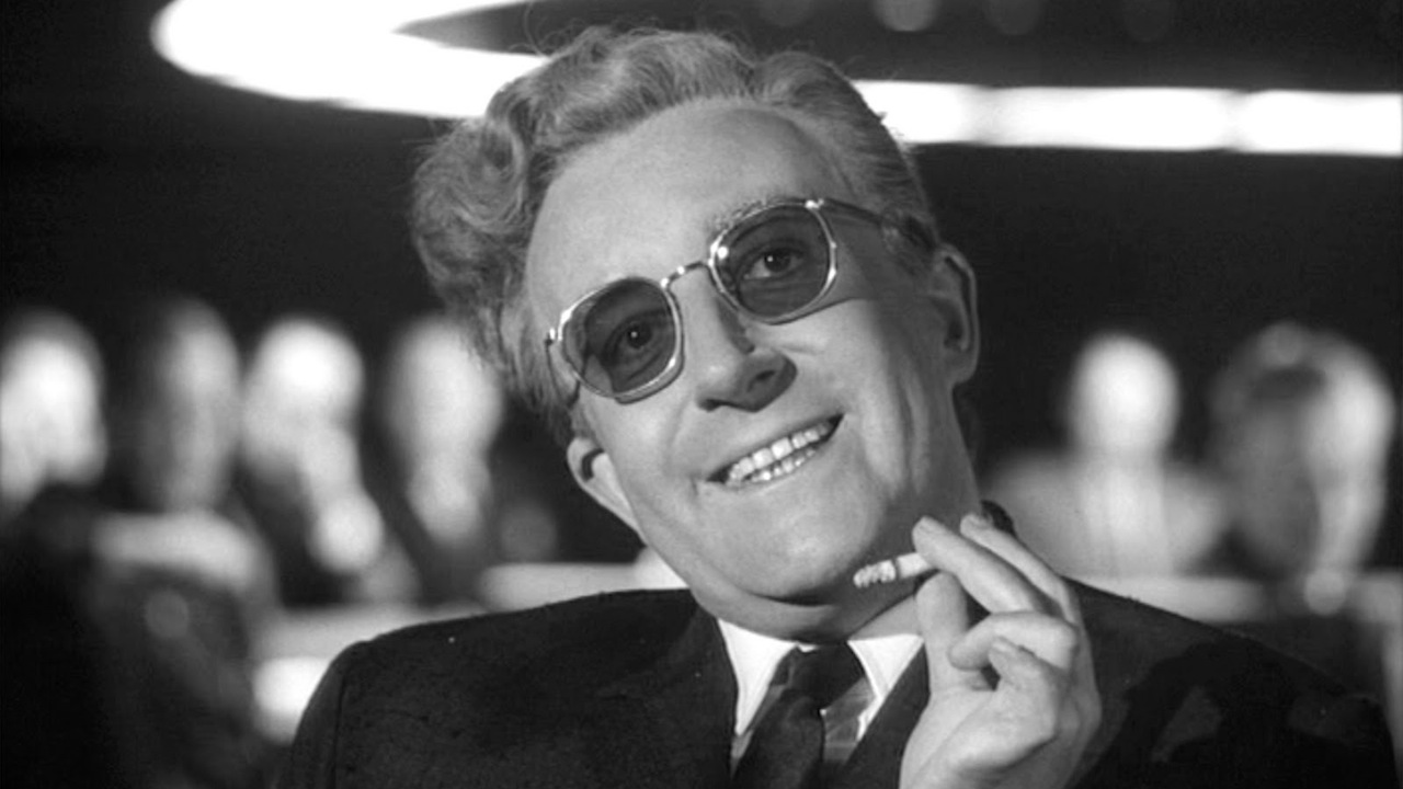 Dr. Strangelove (1964) –  Comedy
