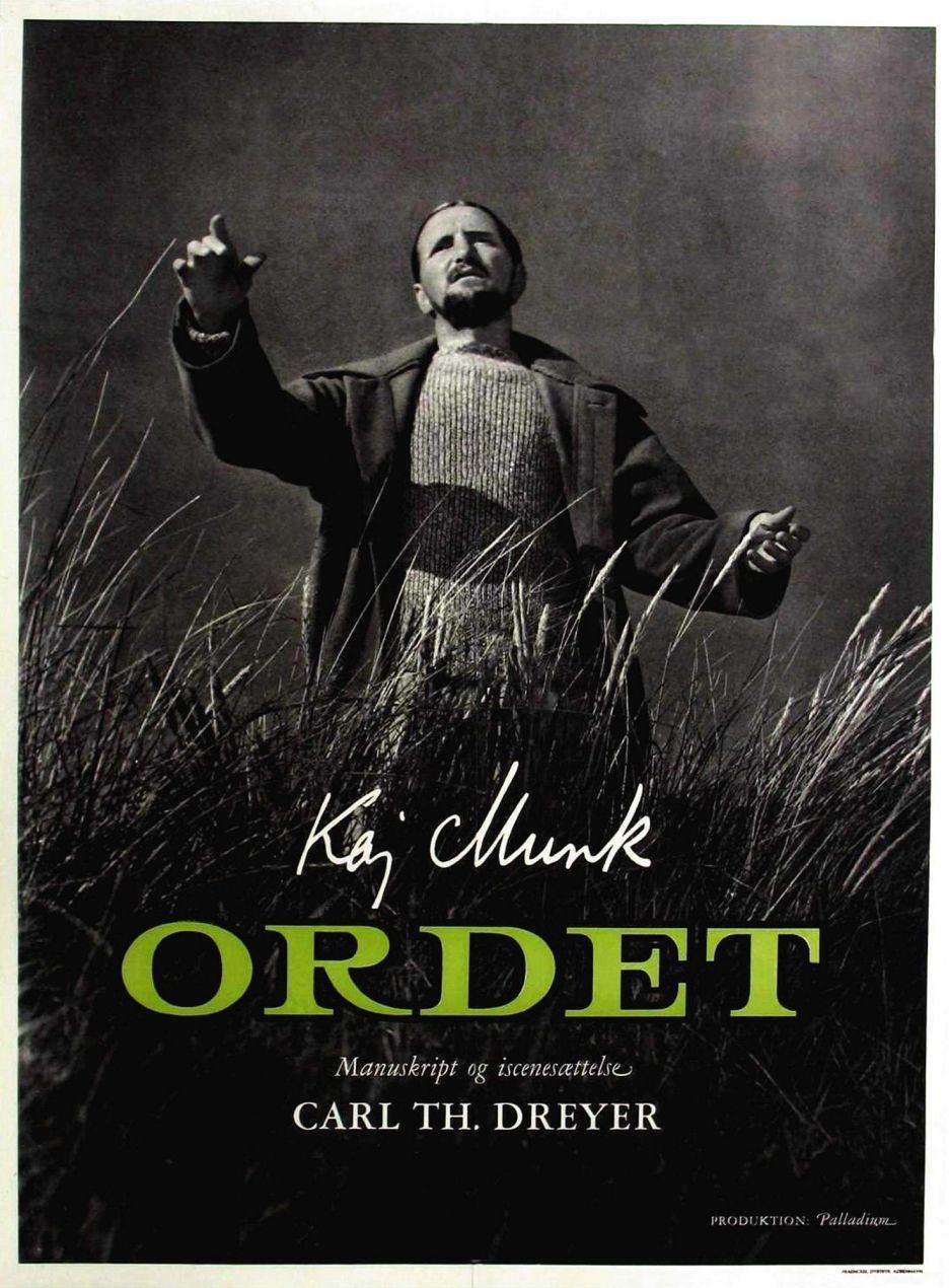 Ordet (1955) - Directed by: Carl Theodor DreyerStarring: Henrik Malberg, Emil Hass Christensen, Preben Lerdorff RyeRated: NRRunning Time: 2h 6mTMM Score: 5 StarsSTRENGTHS: Cinematography, StoryWEAKNESSES: None