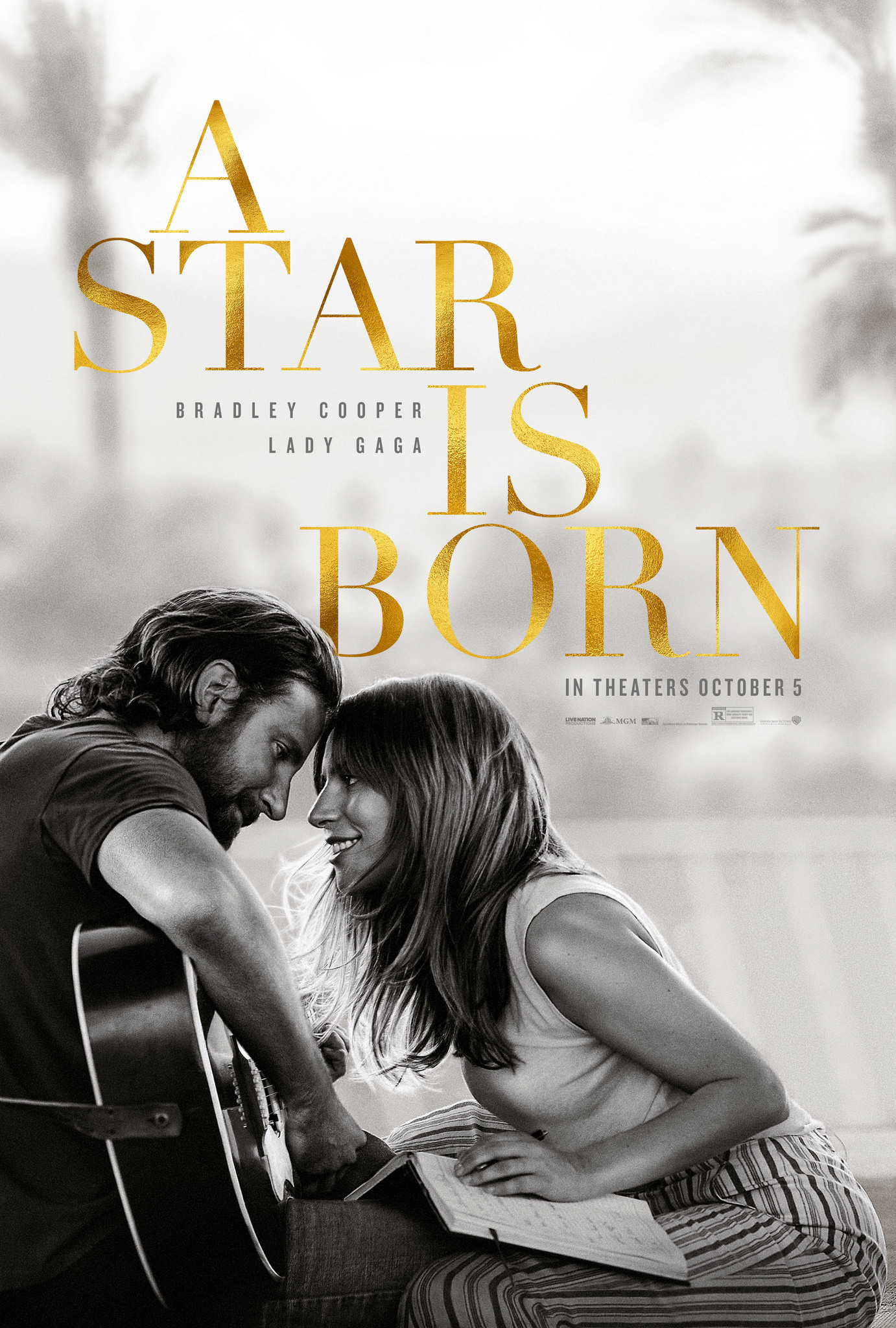 A Star Is Born (2018) - Directed by: Bradley CooperStarring: Lady Gaga, Bradley Cooper, Sam ElliotRated: RRunning Time: 2h 16mTMM Score: 5 StarsSTRENGTHS: EverythingWEAKNESSES: Nothing