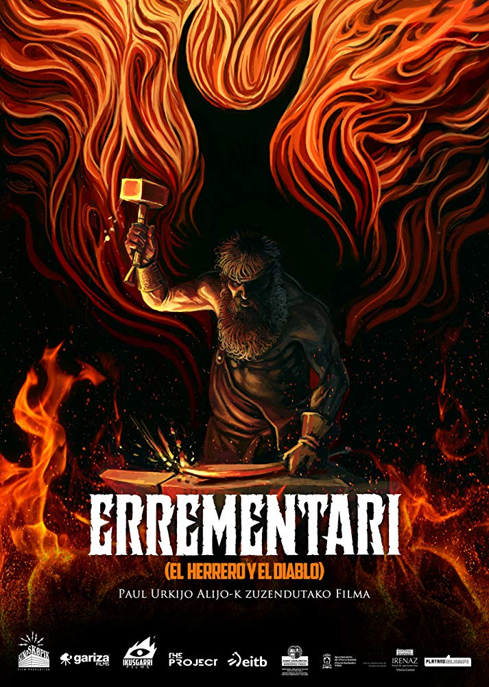 Errementari: The Devil and the Blacksmith (2017) - Directed by: Paul Urkijo AlijoStarring: Kandido Urgana, Uma Bracaglia, Eneko SargardoyRated: MARunning Time: 1 h 38 mTMM Score: 3.5 stars out of 5STRENGTHS: Story, Production Design, Make Up, Unexpected HumorWEAKNESSES: Won't Appeal to All Audiences