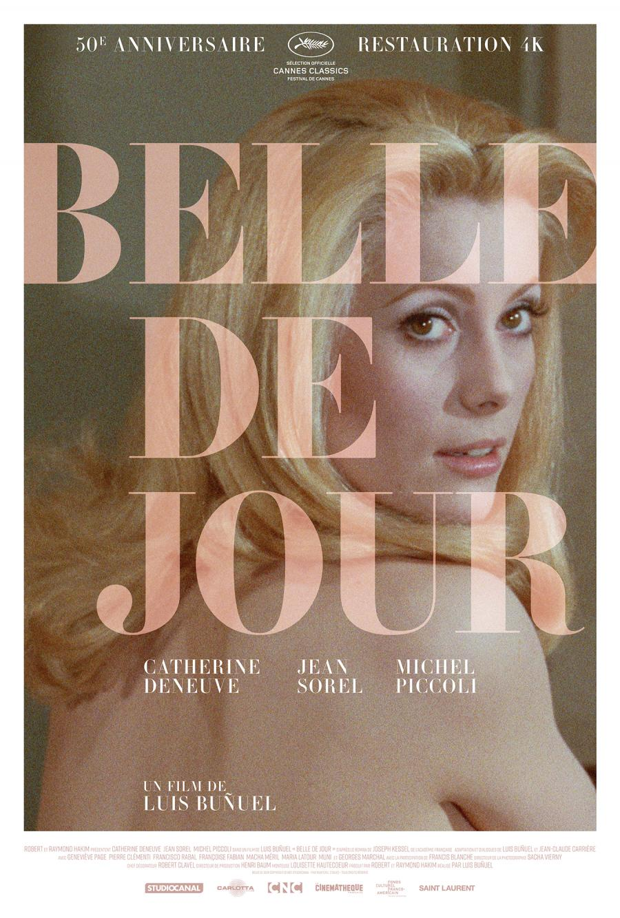 Belle De Jour (1967) - Directed by: Luis BunuelStarring: Catherine Deneuve, Jean Sorel, Michel Piccoli, Genevieve PageRated: RRunning Time: 1 h 40 mTMM Score: 4.5 stars out of 5STRENGTHS: Writing, Directing, Acting, CinematographyWEAKNESSES: -