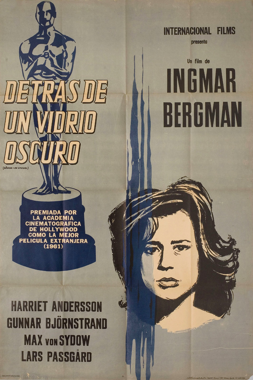 Through A Glass Darkly (1961) - Directed by: Ingmar BergmanStarring: Harriet Andersson, Gunnar Bjornstrand, Max Von SydowRated: NRRunning Time: 1h 21mTMM Score: 5 StarsSTRENGTHS: Acting, ThemesWEAKNESSES: Seriously?