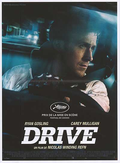 Drive (2011) - Directed by: Nicolas Winding RefnStarring: Ryan Gosling, Carey Mulligan, Bryan Cranston, Ron Perlman, Oscar Isaac, Christina Hendricks, Albert BrooksRated: RRunning Time: 1h 40mTMM Score: 4 StarsSTRENGTHS: Directorial Vision, Cinematography, ActingWEAKNESSES: None