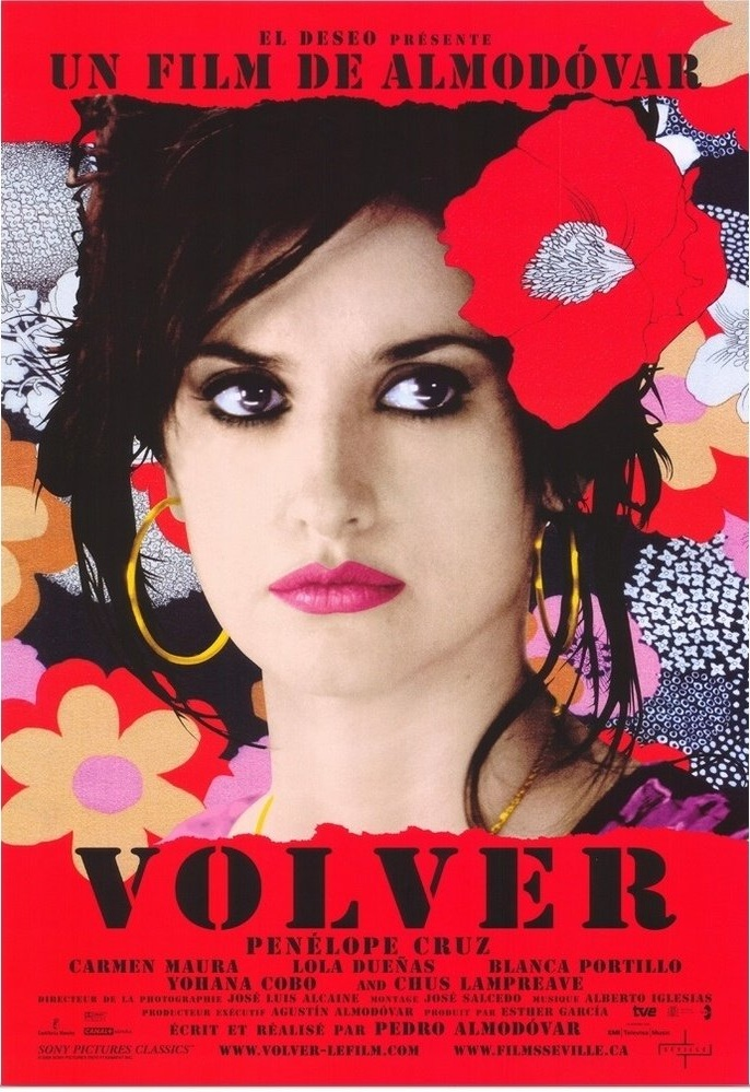 Volver (2006) - Directed By: Pedro AlmodóvarStarring: Penélope Cruz, Carmen Maura, Lola DueñasRated: RRun Time: 2h 1mTMM Score: 4 StarsStrengths: Acting, Story, Setting, DirectingWeakness: None