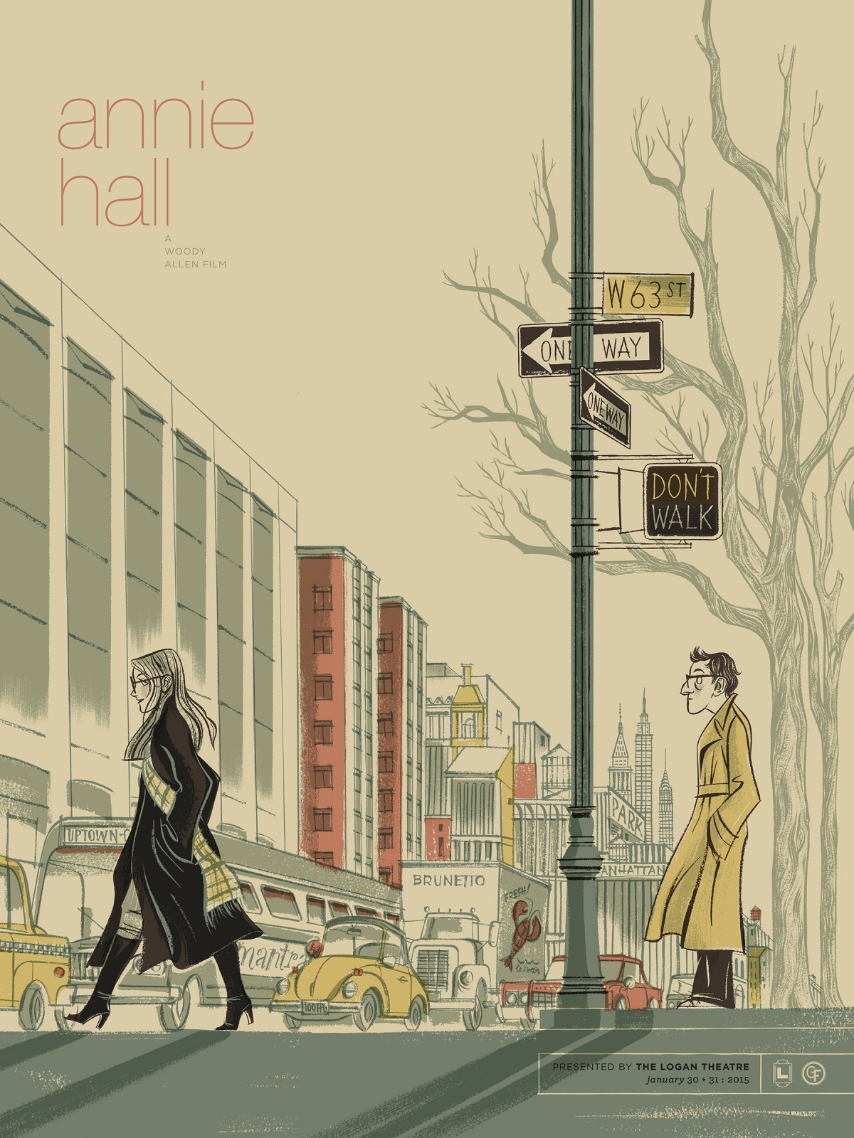 Annie Hall (1977) - Directed by: Woody AllenStarring: Woody Allen, Diane Keaton, Tony Roberts, Shelley Duvall, Christopher WalkenRated: PGRunning Time: 1 h 33 mTMM Score: 4.5 stars out of 5STRENGTHS: Writing, Directing, Acting, InfluenceWEAKNESSES: Some Outdated Sexual Ideas, Some Gags Go On A Little Too Long