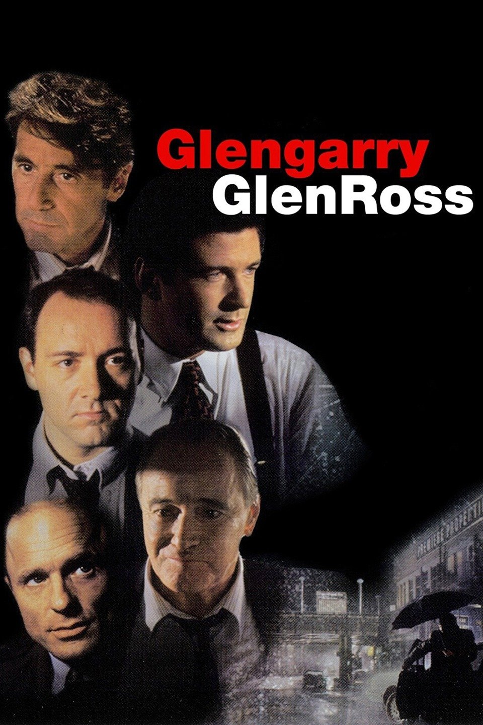 Glengary Glen Ross (1992) - Directed by: James FoleyStarring: Al Pacino, Jack Lemmon, Alec Baldwin, Alan Arkin, Ed Harris, Kevin Spacey, Jonathan Price, Bruce AltmanRated: R for LanguageRunning Time: 1 h 40 mTMM Score: 4.5 stars out of 5STRENGTHS: Writing, ActingWEAKNESSES: -