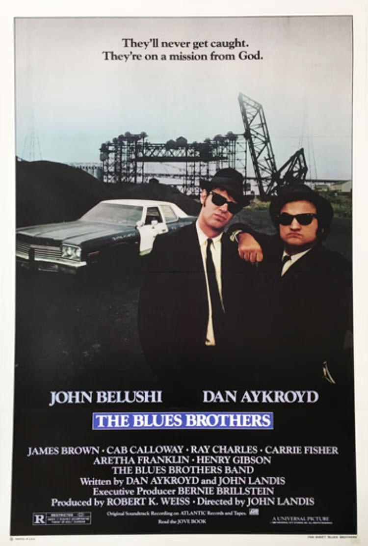 The Blues Brothers (1980) - Directed By: John LandisStarring: John Belushi, Dan Akroyd, Carrie Fisher, Aretha Franklin, Cab Calloway, Ray Charles, James BrownRated: RRun Time: 2h 13mTMM Score: 5 StarsStrengths: PerformancesWeakness: Nothing