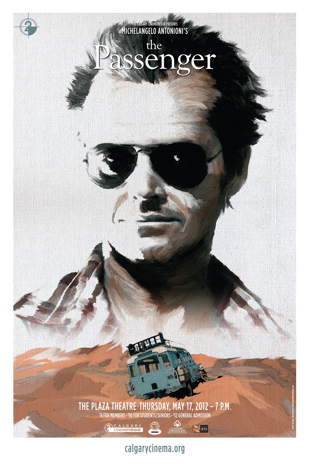 The Passenger (1975) - Directed by: Michelangelo AntonioniStarring: Jack Nicholson, Maria Schneider, Jenny Runacre, Ian HendryRated: PG-13 for Some Violence, Nudity and LanguageRunning Time: 2 h 6 mTMM Score: 4.5 stars out of 5STRENGTHS: Direction, Writing, Acting, CinematographyWEAKNESSES: Pacing