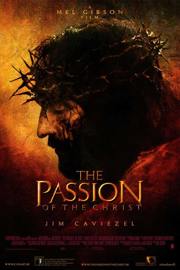 The Passion of The Christ (2004) - Directed By: Mel GibsonStarring: Jim Caviezal, Monica Bellucci, Maia MorgensternRated: RRun Time: 2h 7mTMM Score: 4 StarsStrengths: Visual Storytelling,Weakness: Certain Shots, The Marketing