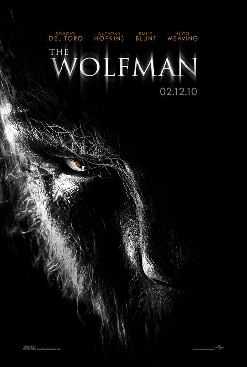 The Wolfman (Director's Cut) (2010) - Directed by: Joe JohnstonStarring: Benicio Del Toro, Anthony Hopkins, Emily Blunt, Hugo Weaving, Asa Butterfield, Max Von Sydow (Only In Director's Cut Only)Rated: R For Bloody Horror Violence and GoreRunning Time: 1 h 59 mTMM Score: 3 stars out of 5STRENGTHS: Some Acting, Production Design, Special Effects, Makeup, Gore EffectsWEAKNESSES: Pacing, Climax