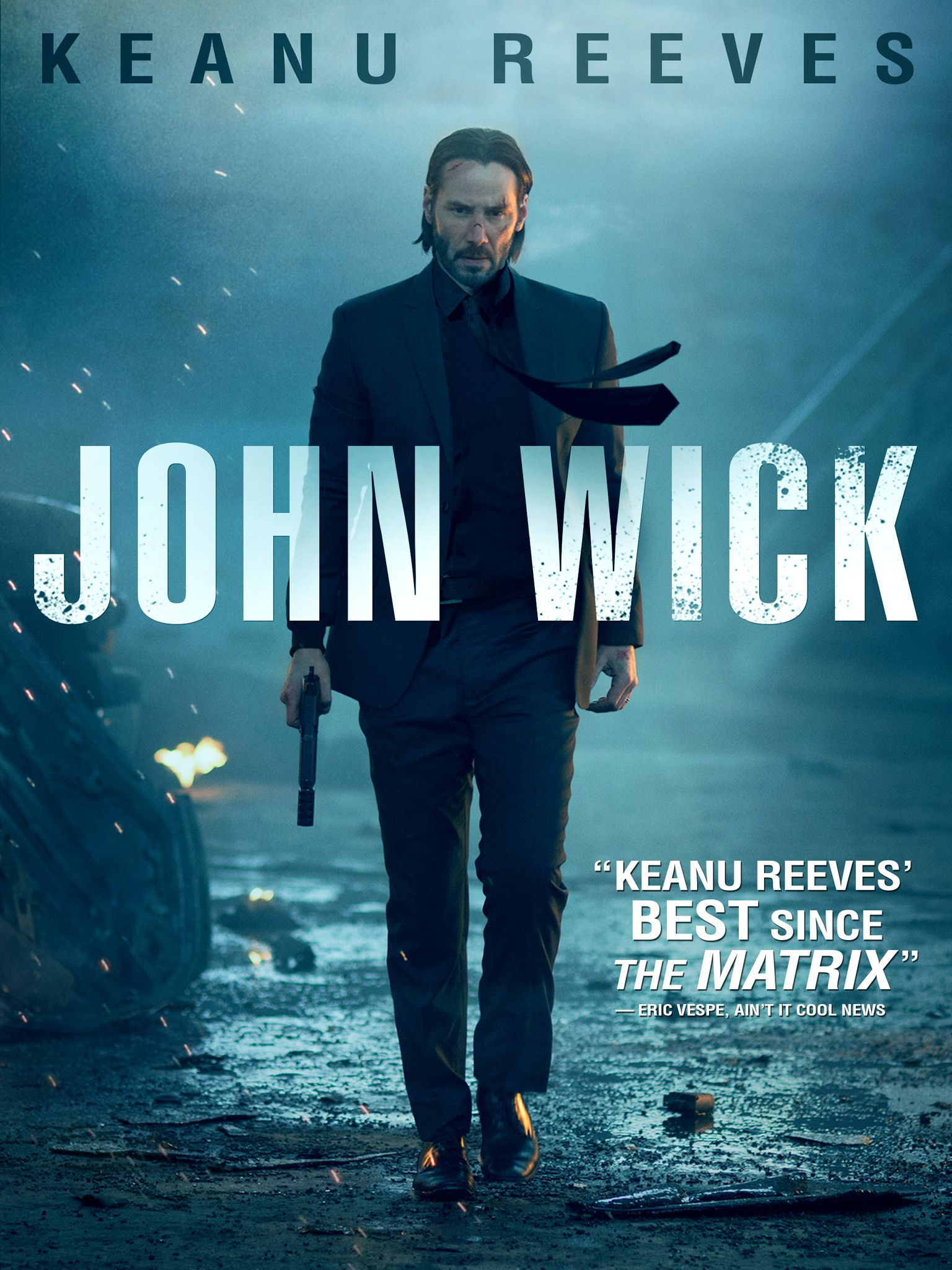 John Wick (2014) - Directed by: Chad StahelskiStarring: Keanu Reeves, Michael Nyqvist, Alfie Allen, Bridget Moynahan, Adrianne Palicki, Willem Dafoe, Ian McShane, John Leguizamo, Dean WintersRated: R for Strong Bloody Violence Throughout, Language and Brief Drug UseRunning Time: 1 h 41 mTMM Score: 4 stars out of 5STRENGTHS: Action, WorldbuildingWEAKNESSES: Some Acting