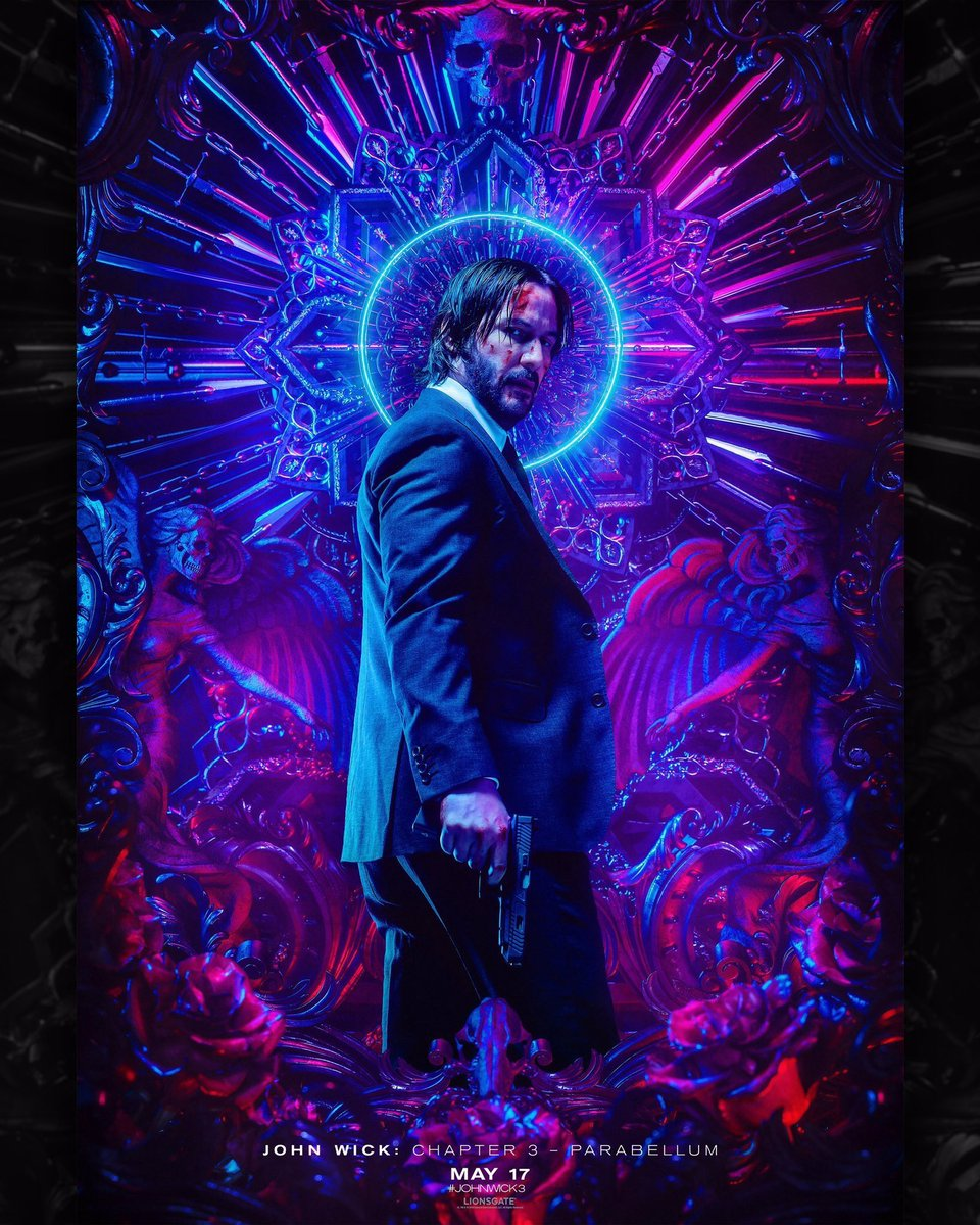 John Wick Chapter 3- Parabellum (2019) - Directed by: Chad StahelskiStarring: Keanu Reeves, Halle Berry, Ian McShane, Laurence Fishburne, Mark Dacasocos, Asia Kate Dillion, Anjelica Huston, Lance Reddick, Jerome Flynn, Jason MantzoukasRated: R for Pervasive Strong Violence, and Some LanguageRunning Time: 2 h 10 mTMM Score:4.5 stars out of 5STRENGTHS: Action, Cinematography, Worldbuilding, Story, Themes, FunWEAKNESSES: Wick is Invincible, Some Acting