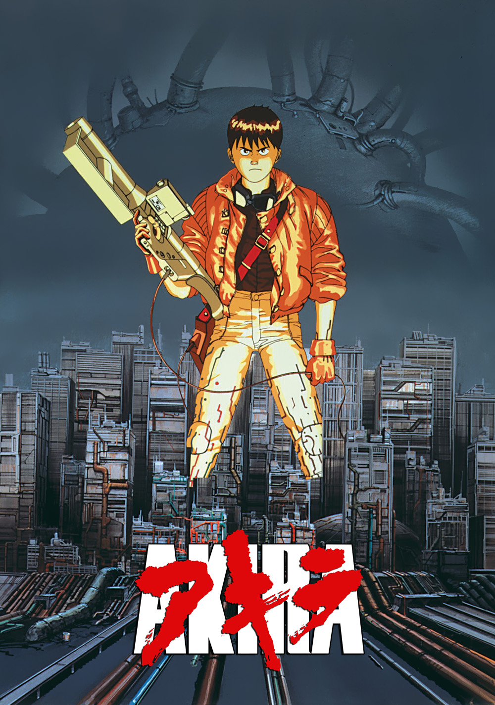 Akira (1988) - Directed by: Katsuhiro OtomoStarring: Mitsuo Iwata, Nozomu Saski, Takeshi KusaoRated: R for Graphic Violence and Brief NudityRunning Time: 2 h 4 mTMM Score: 4.5 stars out of 5STRENGTHS: Story, AnimationWEAKNESSES: Compressed and Dense Story