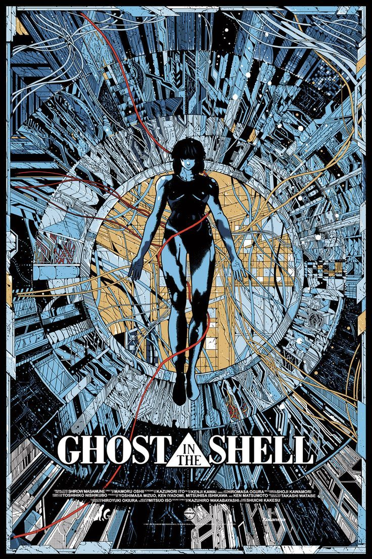 Ghost in the Shell (1995) - Directed By: Mamoru OshiiStarring: Atsuko Tanaka, Iemasa Kayumi, Akio ÔtsukaRated: NRRun Time: 1h 23mTMM Score: 5 StarsStrengths: Animation, Philosophical DiscussionsWeakness: Doesn't Always Explain Difficult Concepts