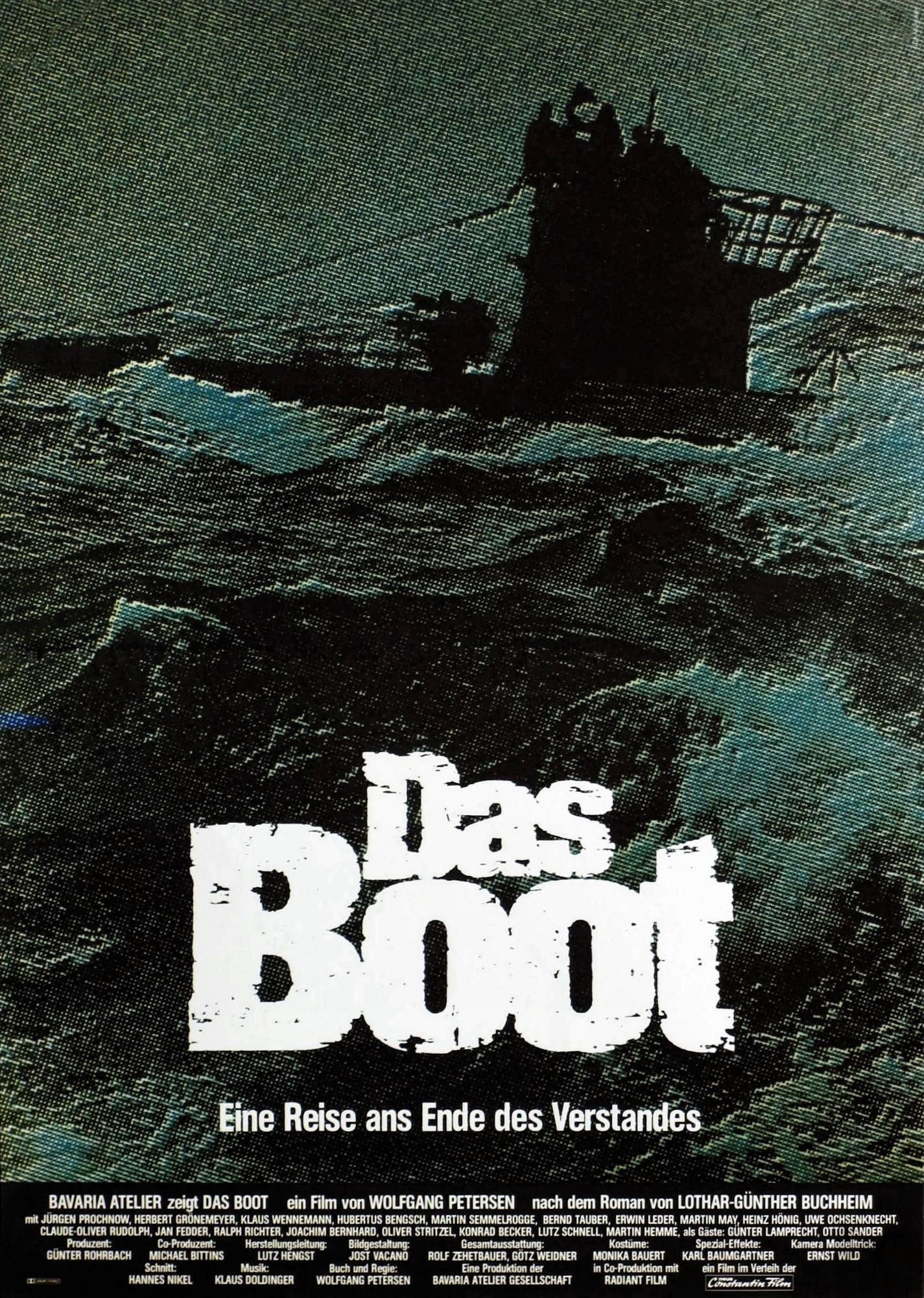 Das Boot- Director's Cut (1981) - Directed by: Wolfgang PetersenStarring: Jurgen Prochnow, Herbert Gronemeyer, Klaus WennemannRated: R for Some War Violence and Brief LanguageRunning Time: 3 h 28 mTMM Score: 5 stars out of 5STRENGTHS: Direction, Story, Cinematography, AtmosphereWEAKNESSES: -