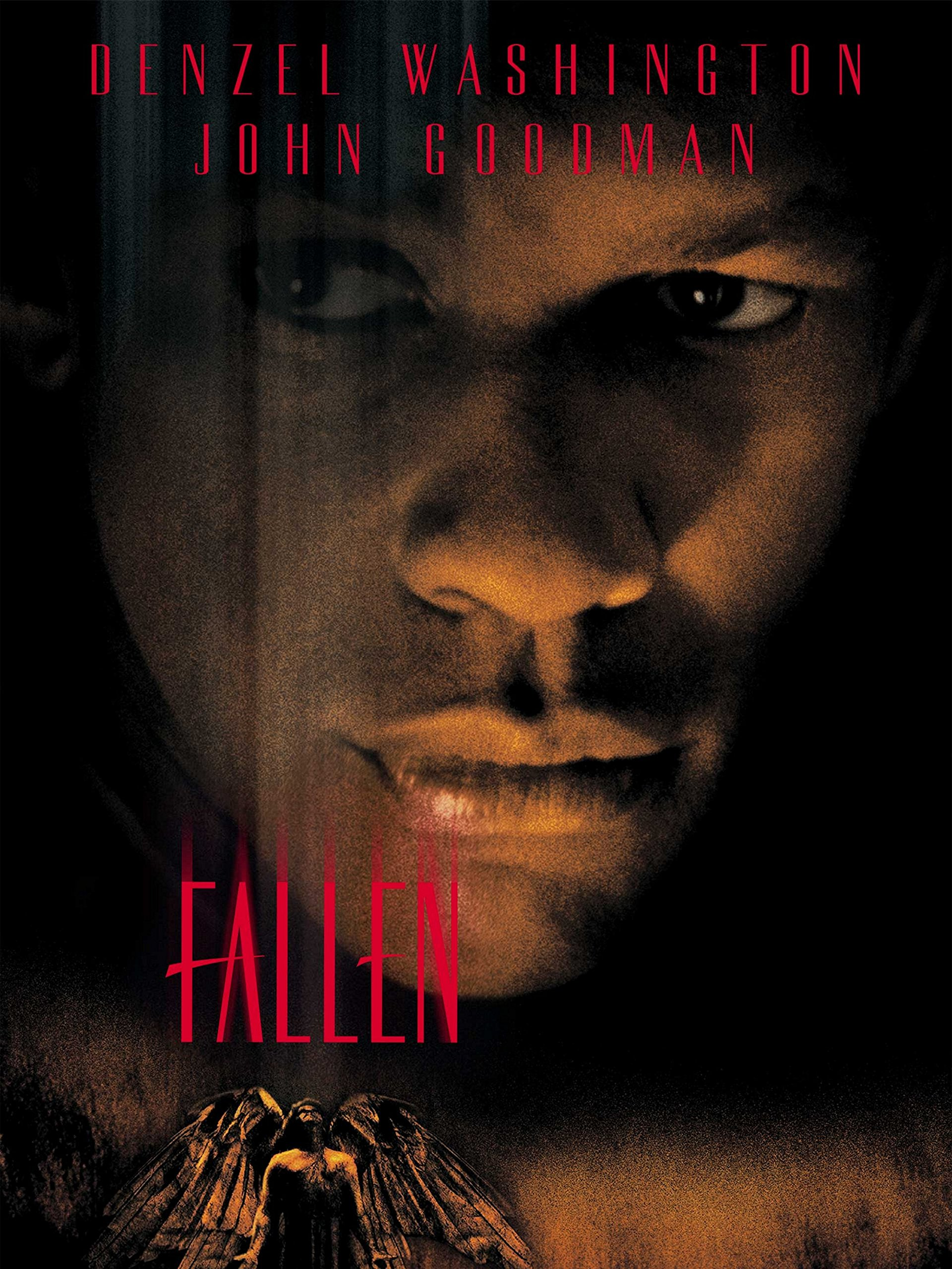 Fallen (1998) - Directed by: Gregory HoblitStarring: Denzel Washington, John Goodman, Donald SutherlandRated: RRunning Time: 2h 4mTMM Score: 3 StarsSTRENGTHS: Great Ideas, Good AtmosphereWEAKNESSES: Weak Direction/Writing