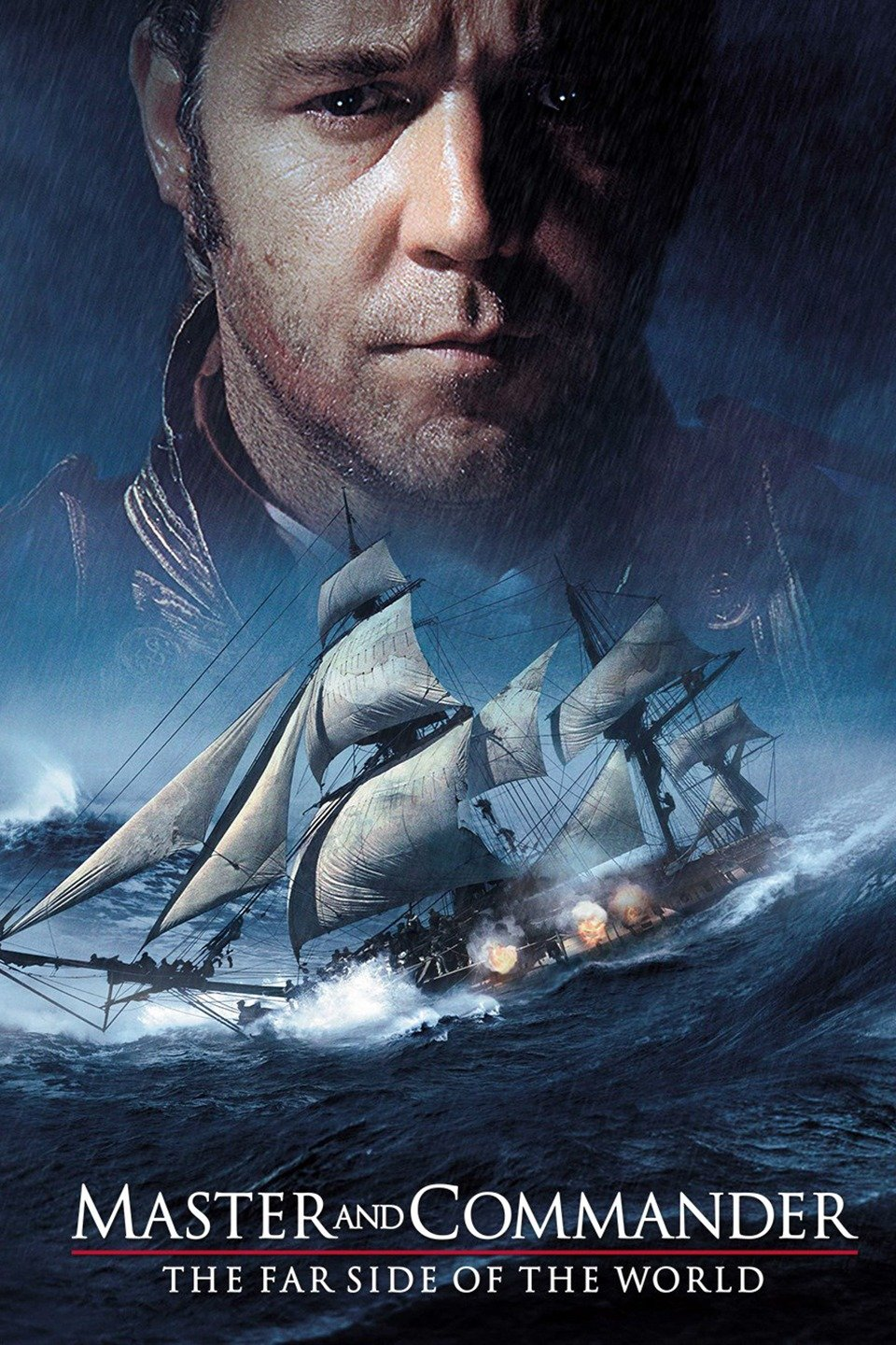 Master and Commander: The Far Side of the World (2003) - Directed by: Peter WeirStarring: Russell Crowe, Paul Bettany, Billy BoydRated: PG-13 for Intense Battle Sequences, Related Images, and Brief LanguageRunning Time: 2h 18mTMM Score: 5 StarsSTRENGTHS: Cinematography, Writing, Direction, PerformancesWEAKNESSES: -