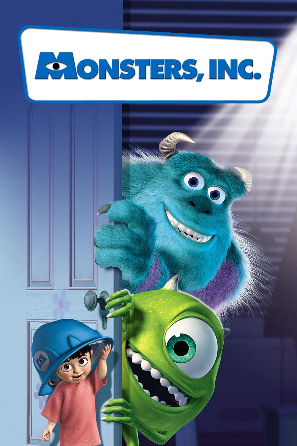 Monster's Inc. (2001) - Directed by: Pete DoctorStarring: John Goodman, Billy Crystal, Steve BuscemiRated: GRunning Time: 1h 32mTMM Score: 4.5 StarsSTRENGTHS: Animation, Characters, FunWEAKNESSES: Glaring Plot Hole